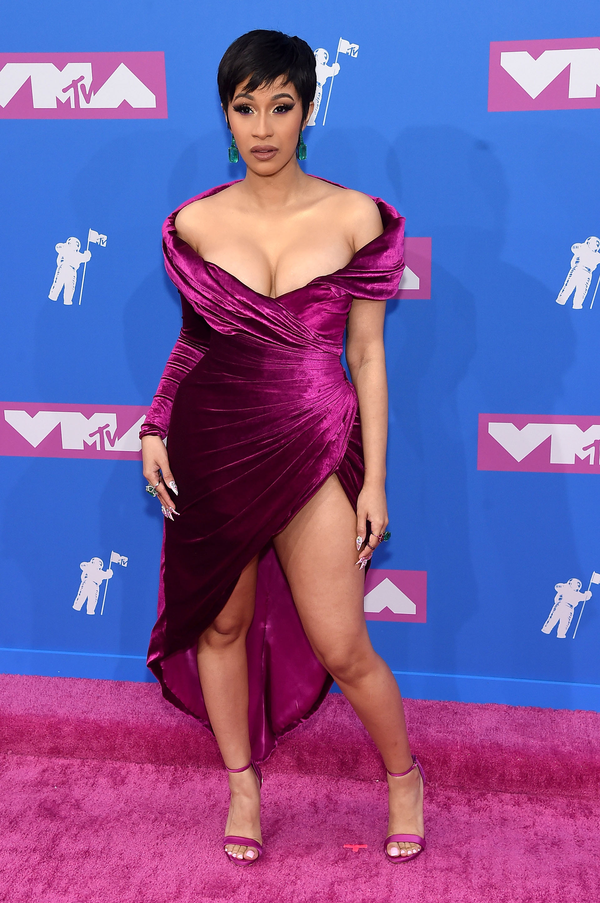 Cardi B (Jamie McCarthy/Getty Images/AFP)
