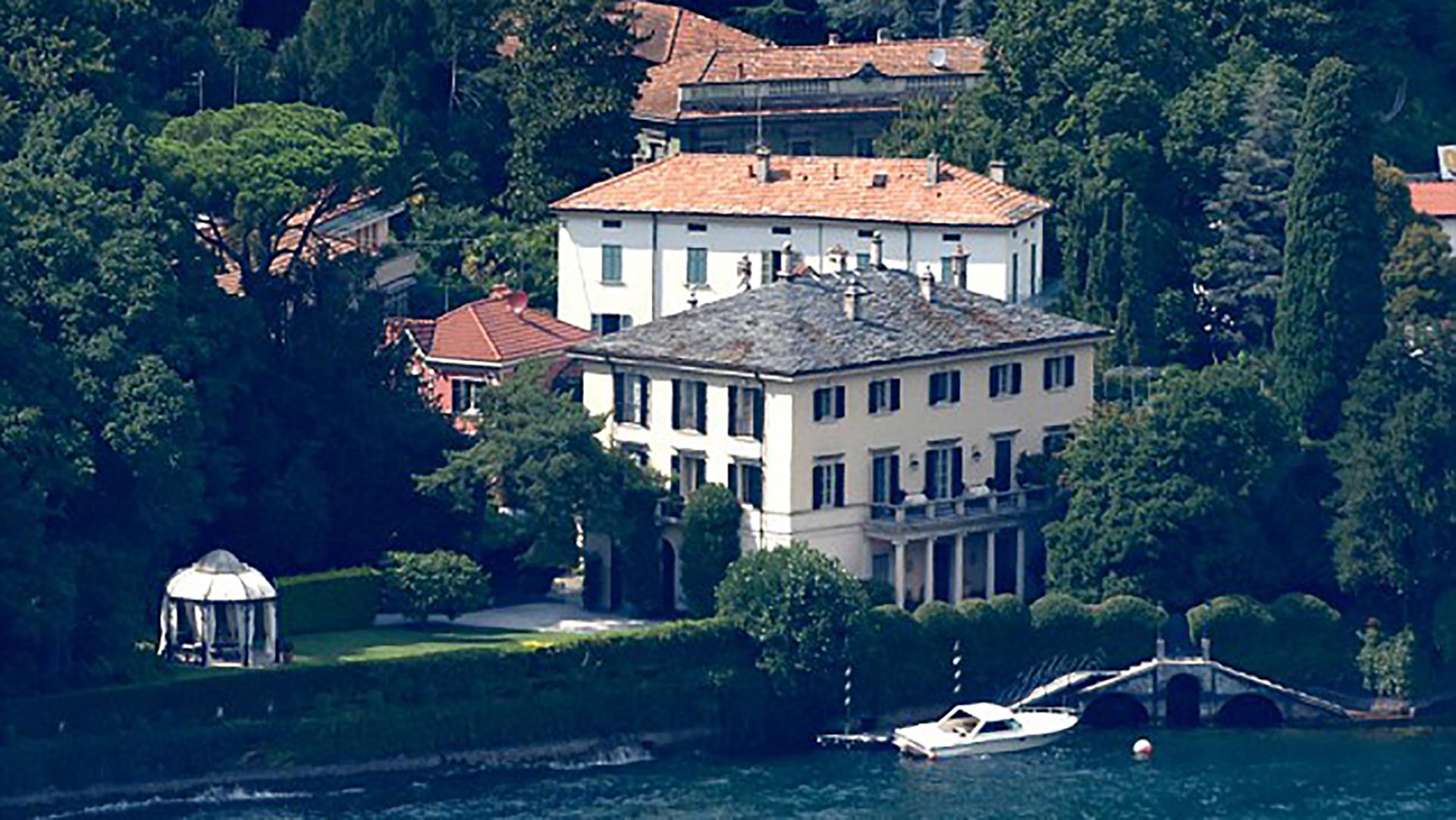 En agosto,la parejareal pasó unos días conlos Clooney en su residencia del Lago Como en Italia