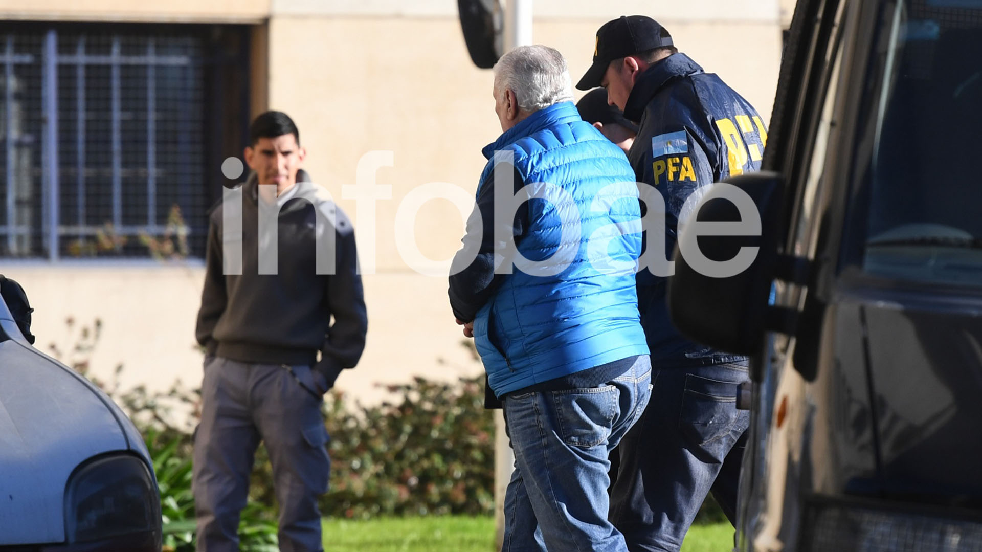 Néstor Otero, el día de su detención (foto: Maximiliano Luna)
