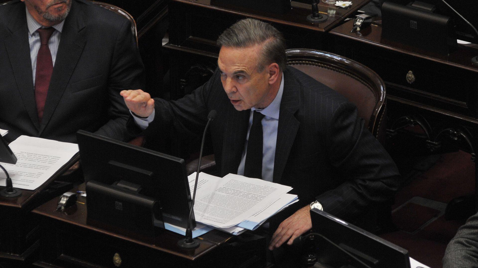 El senador Miguel Ángel Pichetto (Patricio Murphy)