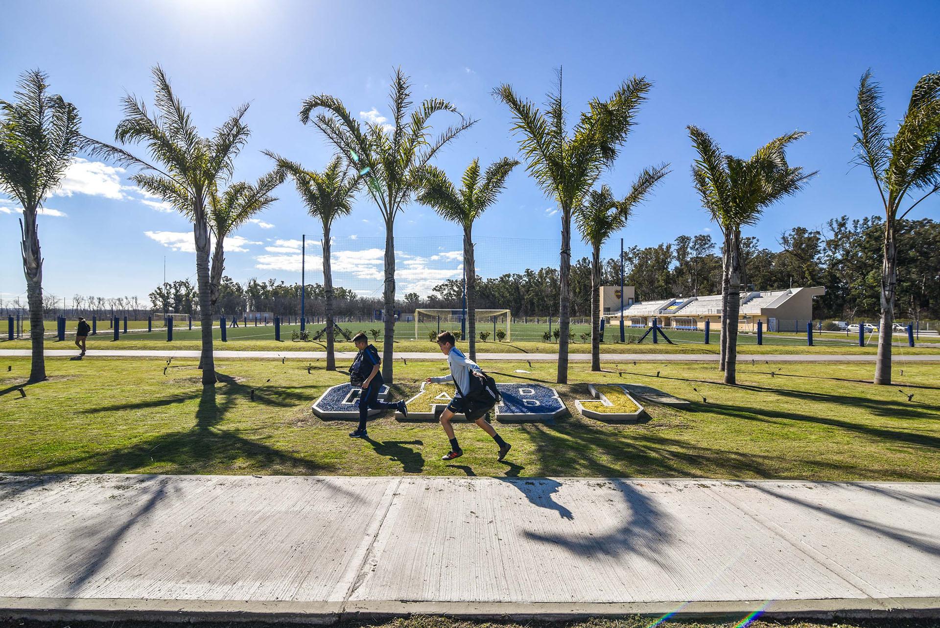 El centro de entrenamiento se inauguró el 3 de abril de 2017 después de 25 meses de obras (Guille Llamos)
