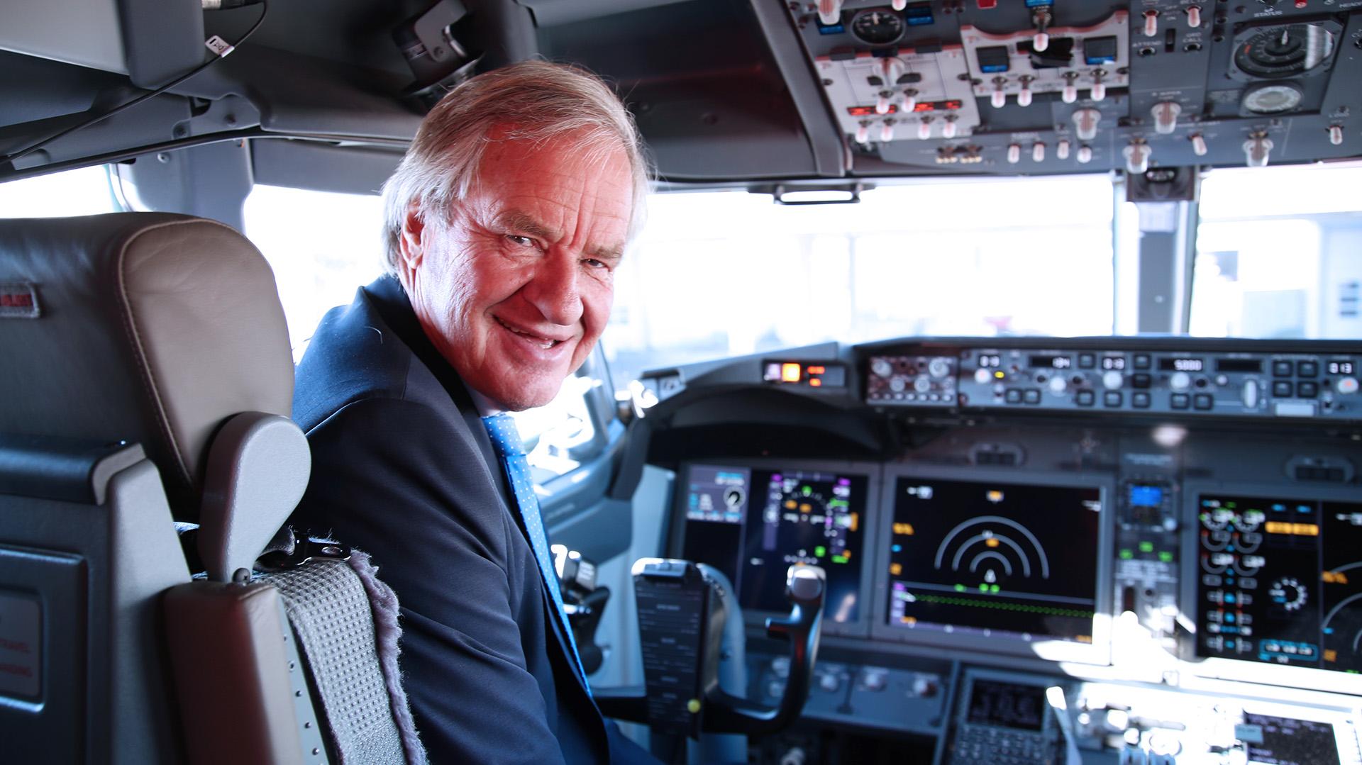 Bjorn Kjos, CEO global de la empresa (Norwegian Air Argentina)