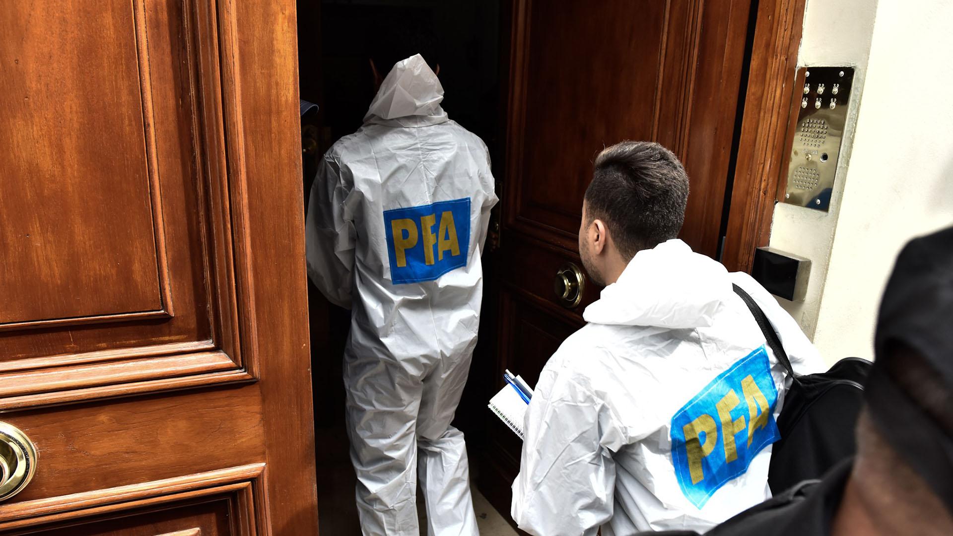Del operativo participa la Policía Federal (foto Adrián Escandar)