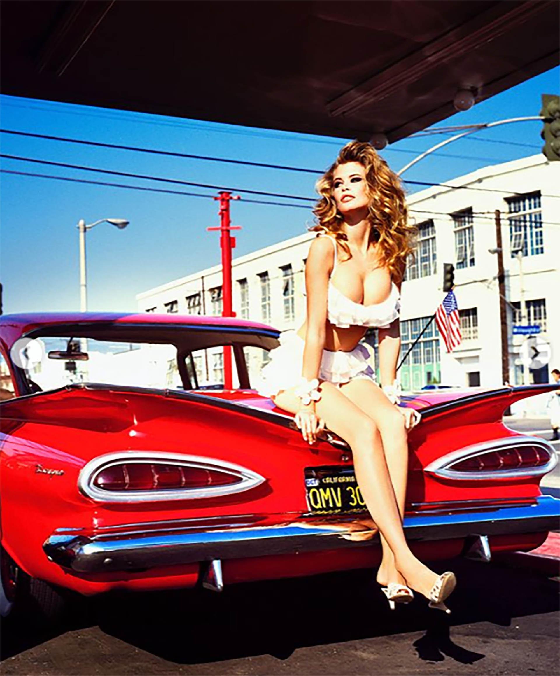 Batió un récord Guinnes al ser la modelo que más portadas ha realizado a nivel mundial con más de 900 apariciones