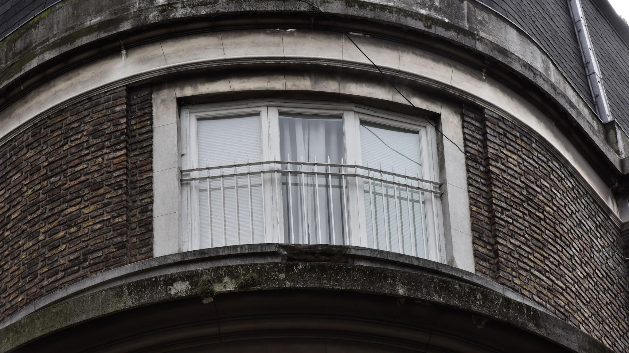 Las cortinas del departamento de la ex presidente se mantuvieron cerradas durante todo el día