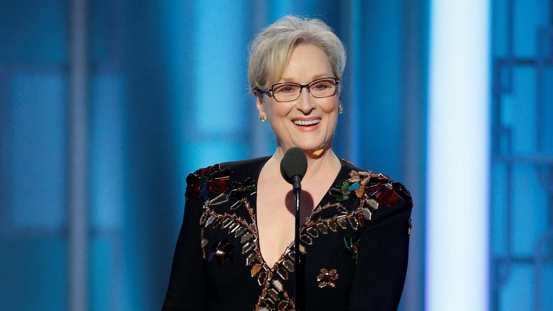 "Meryl Streep actuó en la serie ""Big Little Liars"" (Reuters)"
