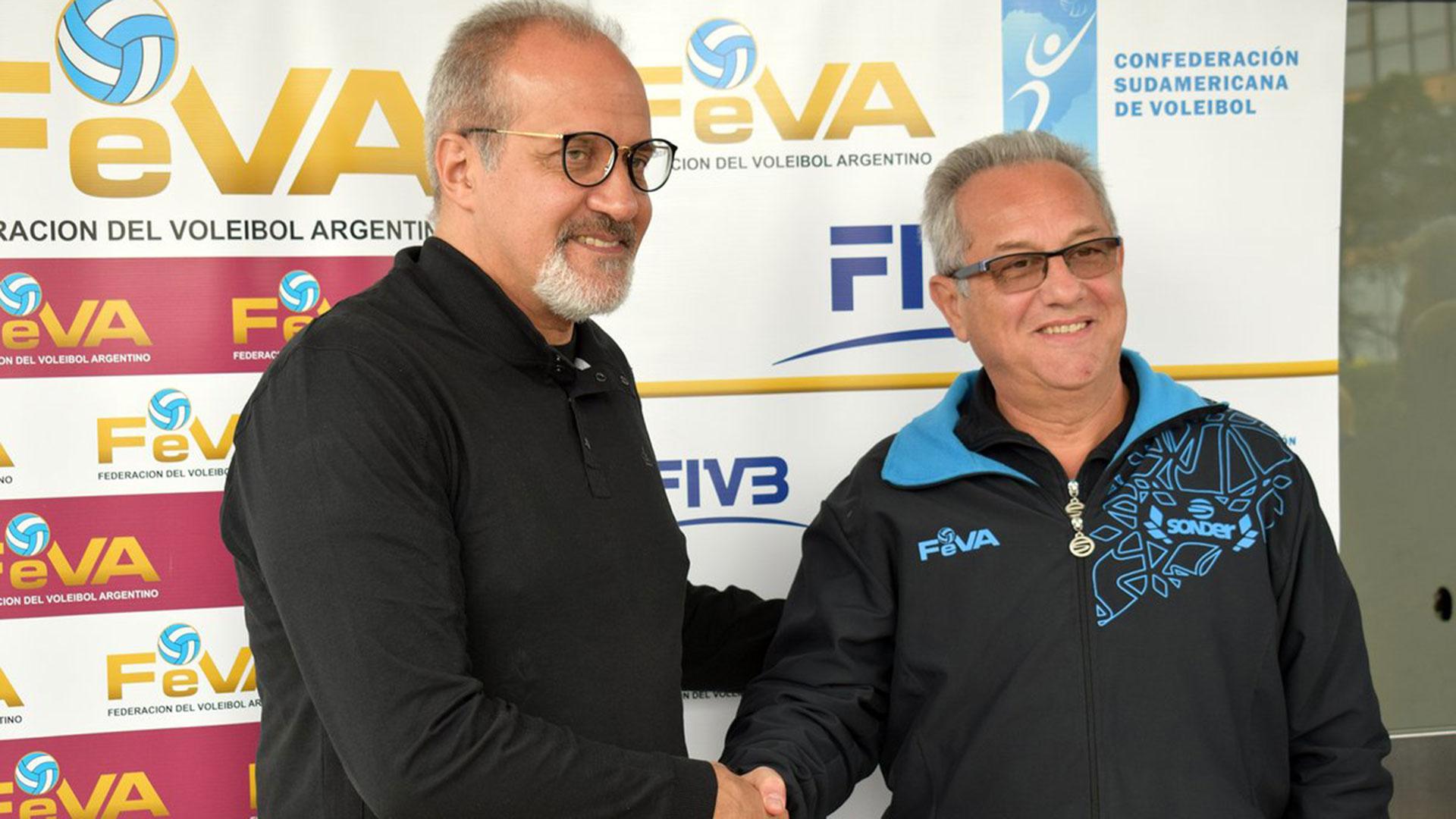 Méndez y Velasco: el sucesor y el actual entrenador de la Selección