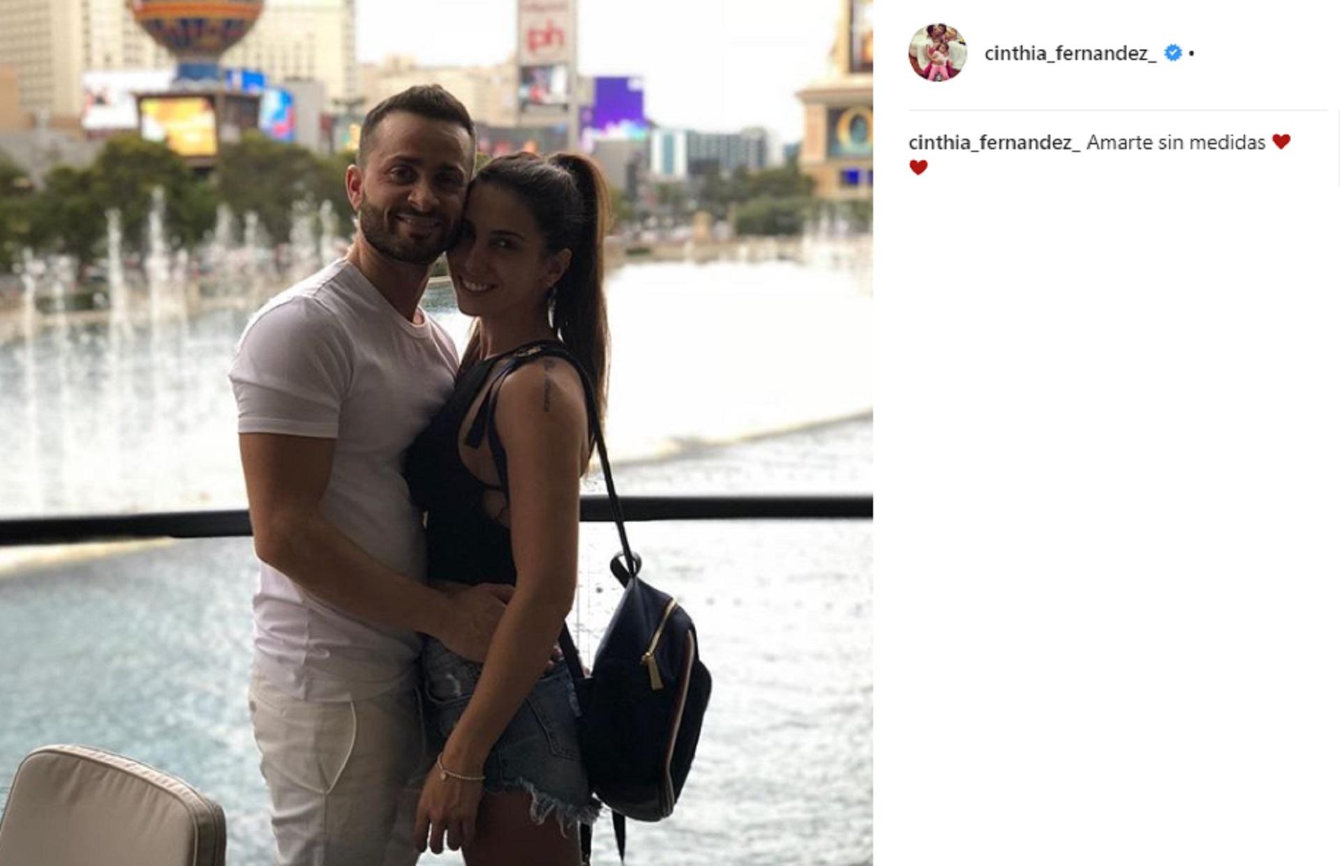 Ella rehizo su vida sentimental junto a Martín Baclini, en tanto él continúa su relación con Priscila Leskiw