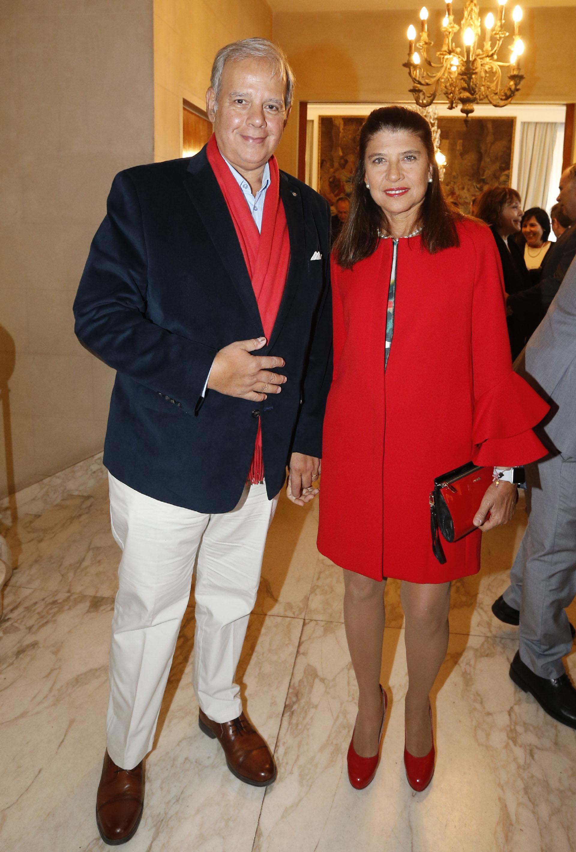 Alejandro Caride y Marta Diez