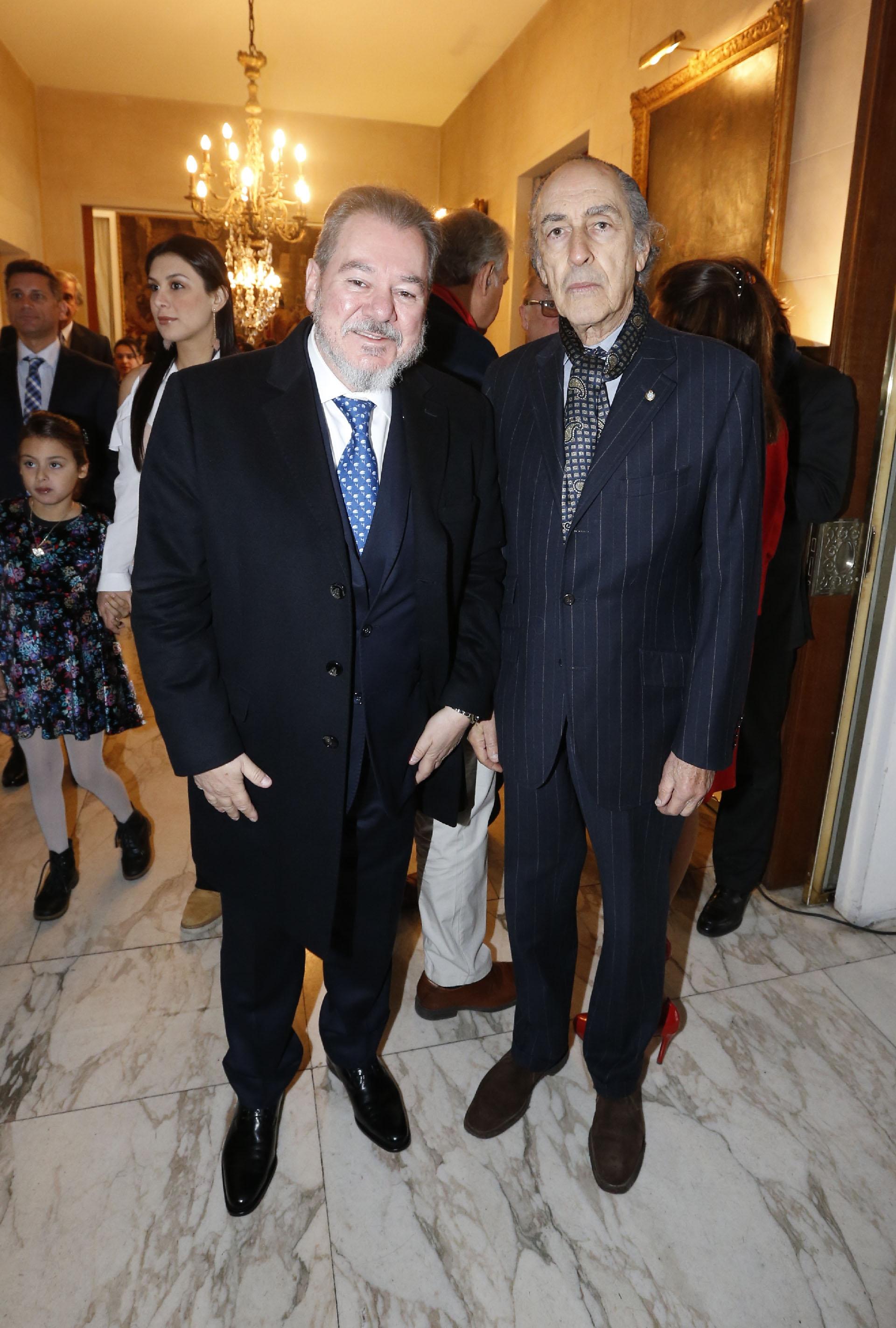 El empresario Mario Montoto y el ex vicecanciller Fernando Petrella