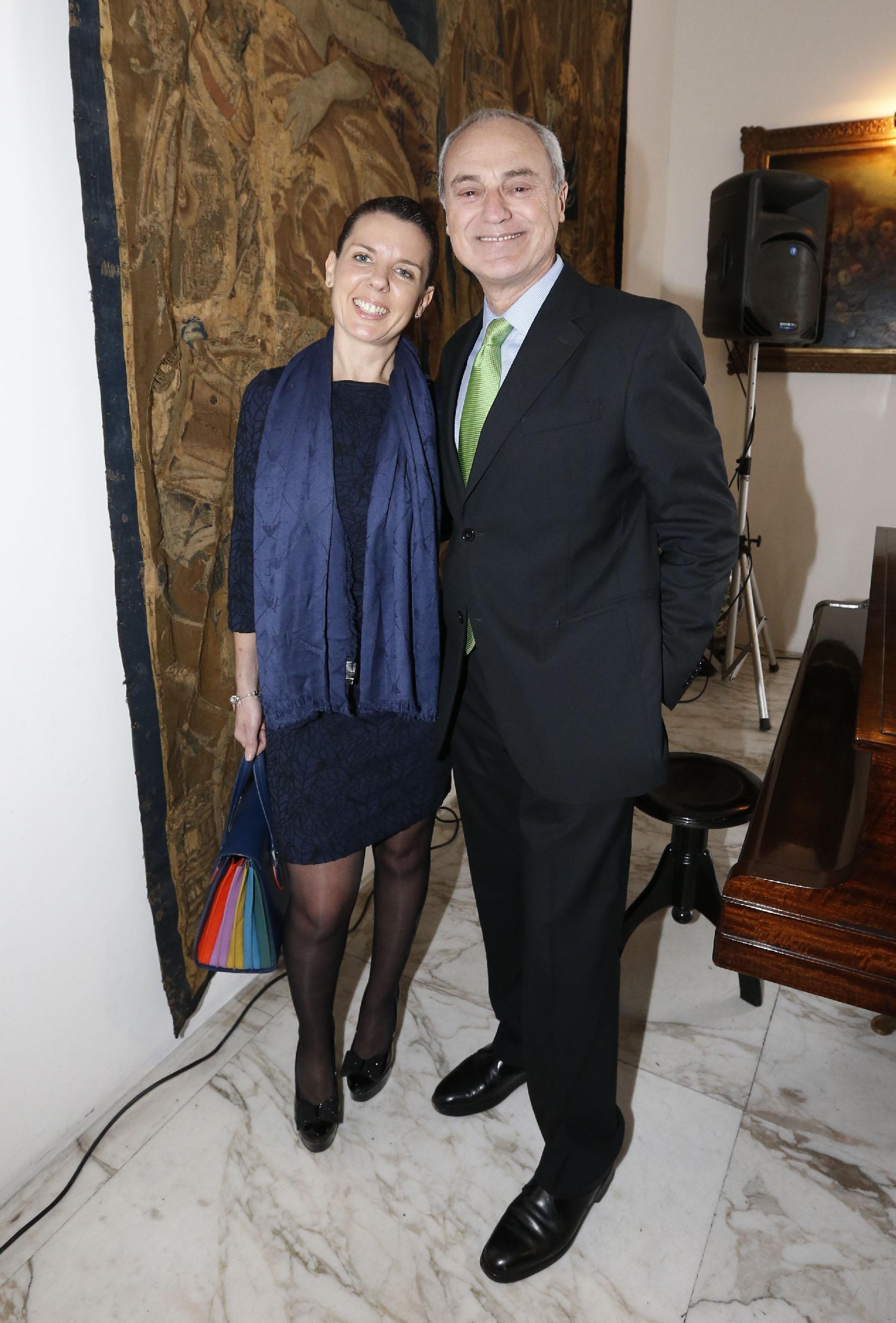 Carla Algeri y Alejandro Raineri