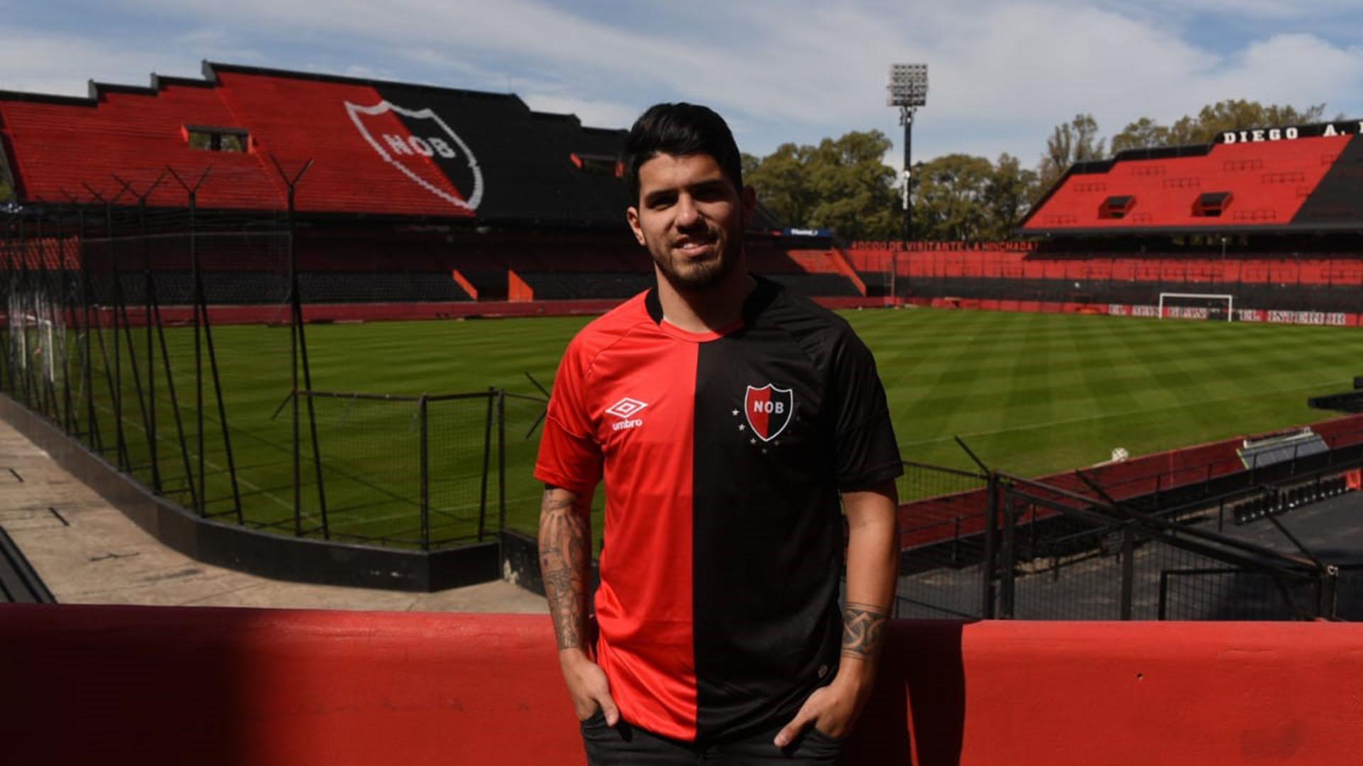 El hermano del Kun tiene 21 años(Gentileza Club Atlético Newell's Old Boys)