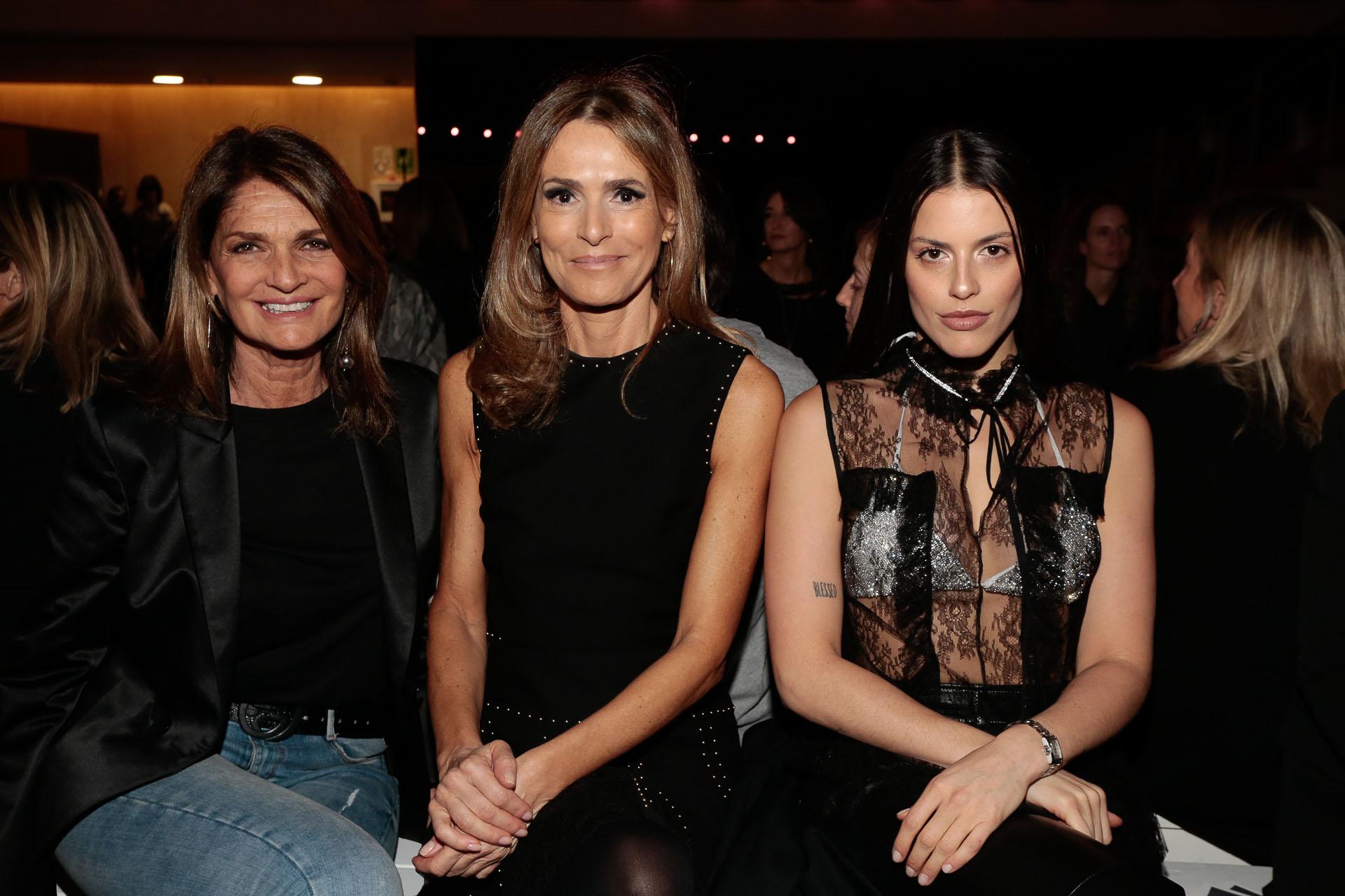 Teresa Calandra, Rossella Della Giovampaola y Agustina Marzari Bobbio