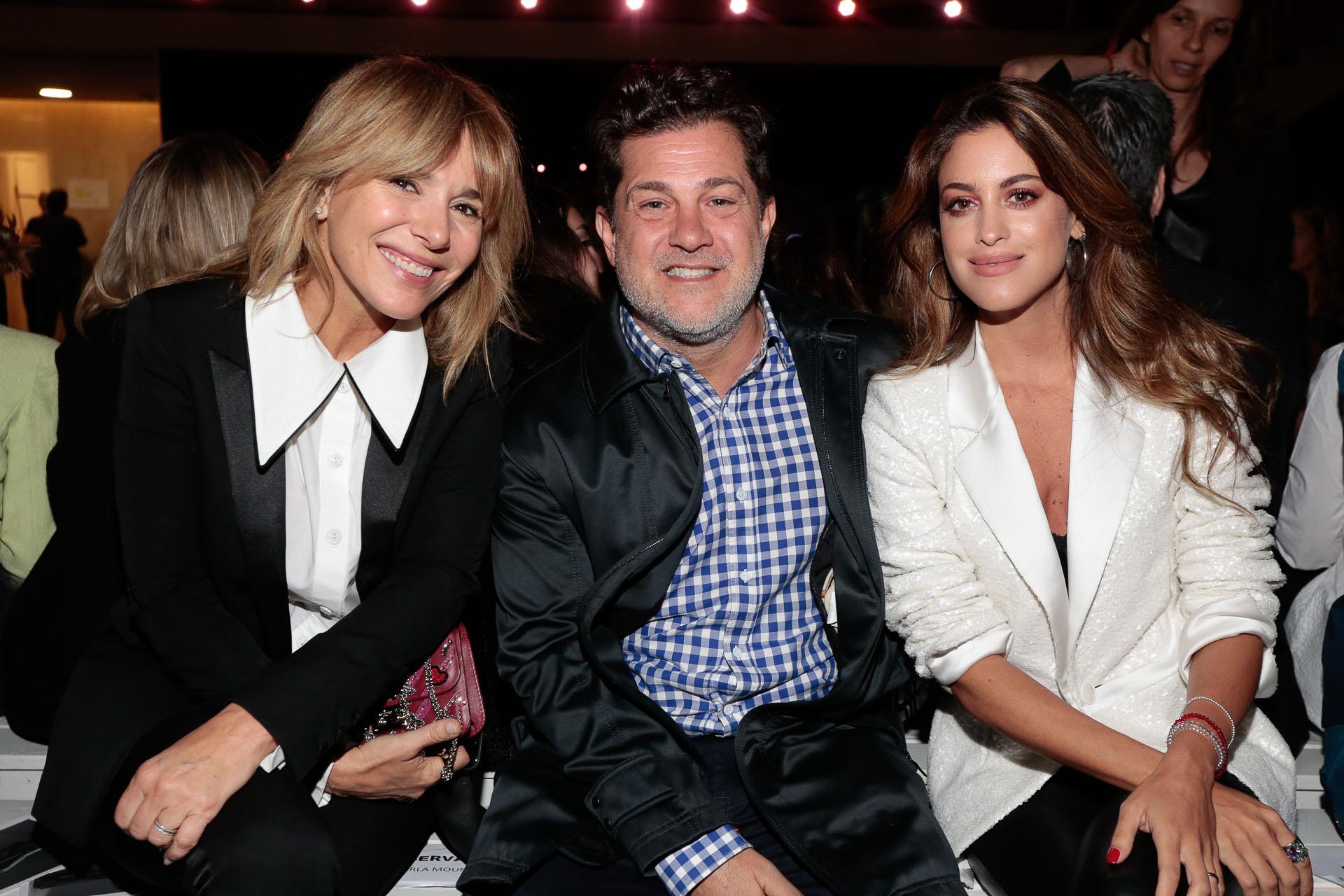 Grace Ratto, Lautaro Mauro y su mujer Agustina Casanova