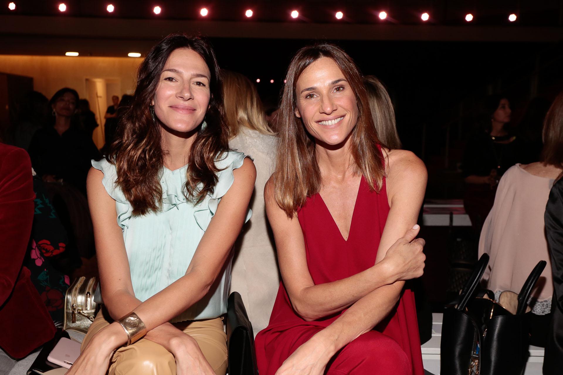 Dolores Trull y Lara Bernasconi