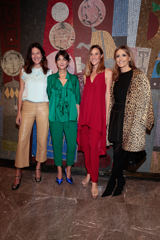 Dolores Trull, Evangelina Bomparola, Lara Bernasconi y Rossella Della Giovampaola