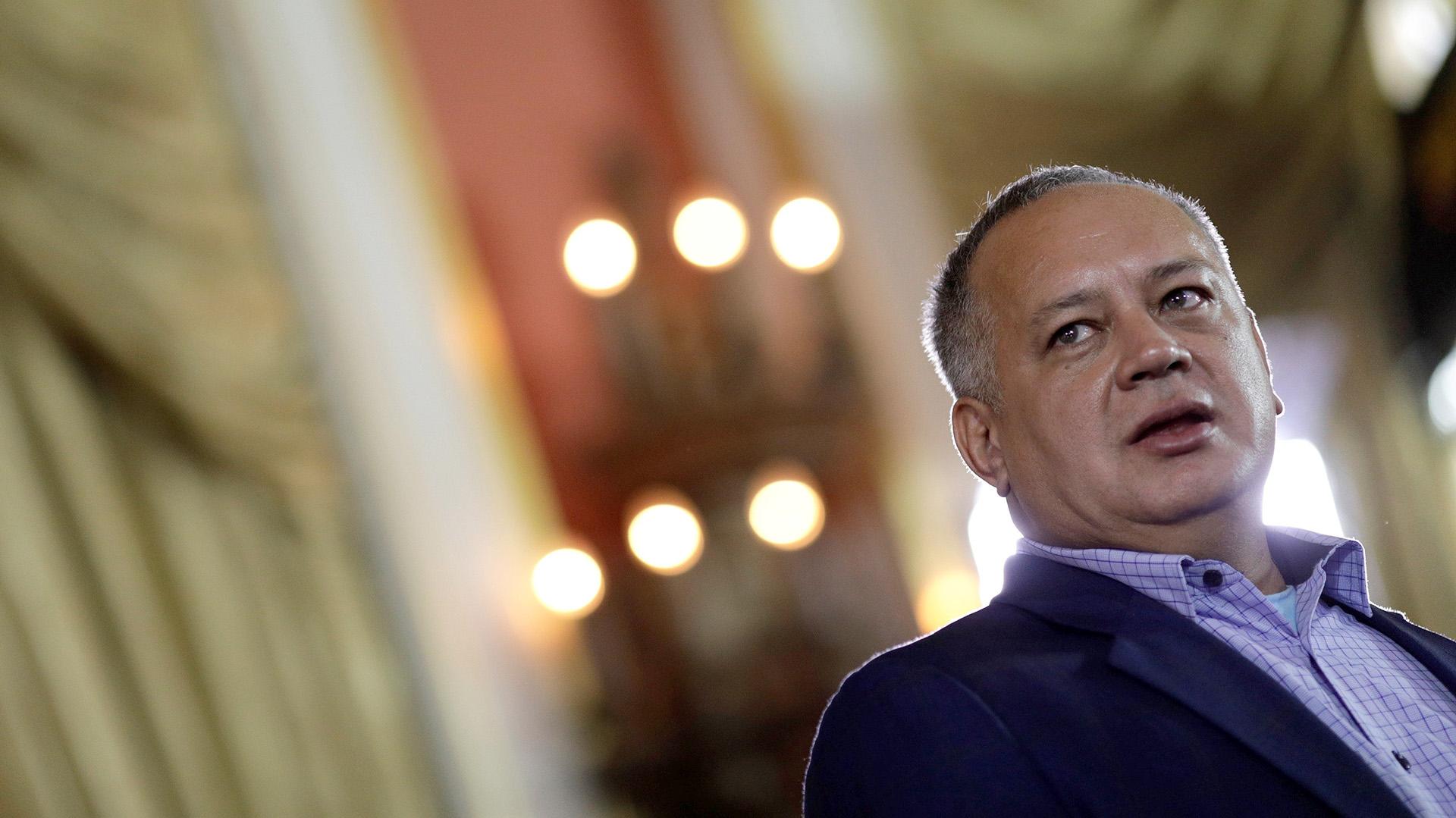 Diosdado Cabello es señalado como el líder del Cártel de los Soles