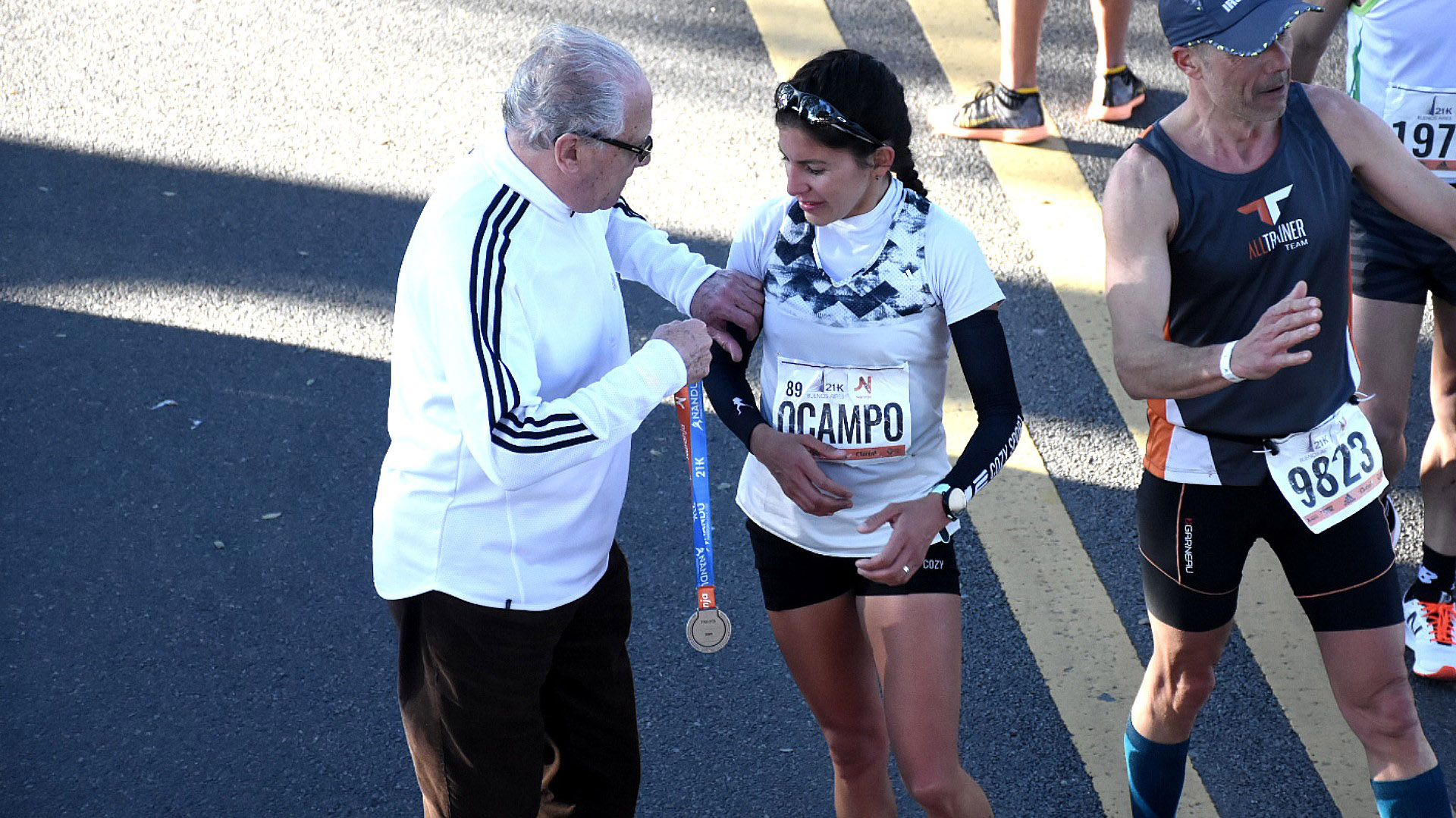 Daiana Ocampo se convirtió en la campeona argentina de medio maratón con 1:14:04