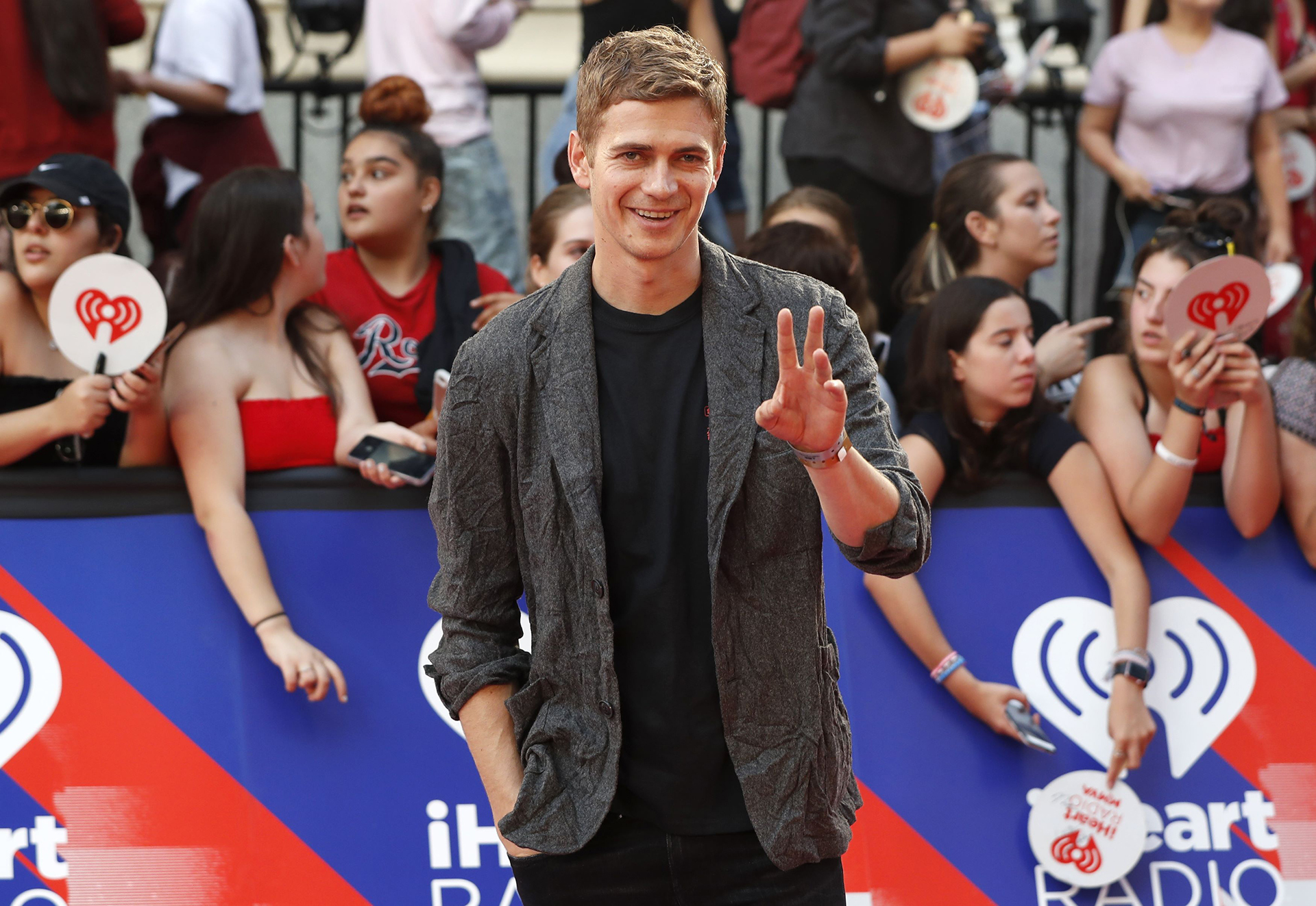 Hayden Christensen (REUTERS/Mark Blinch)