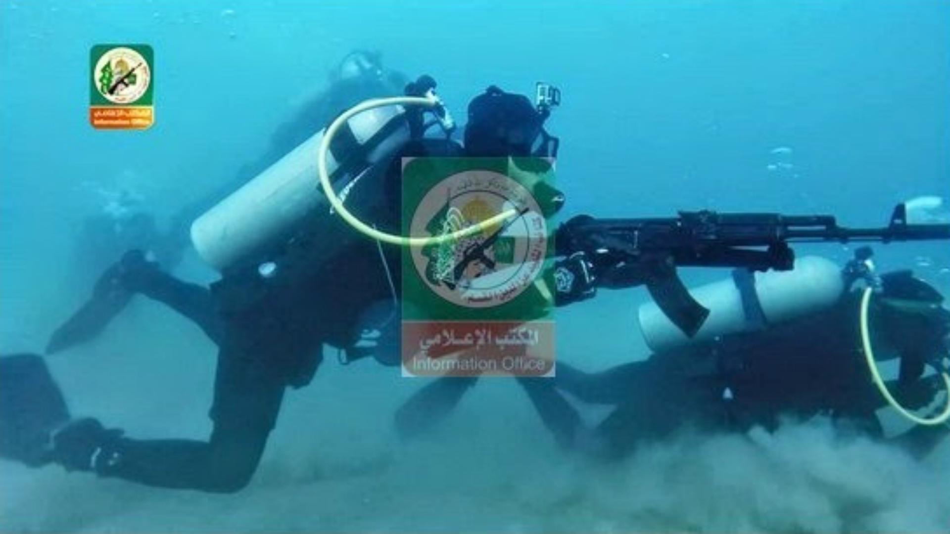 Buzos tácticos de Hamas