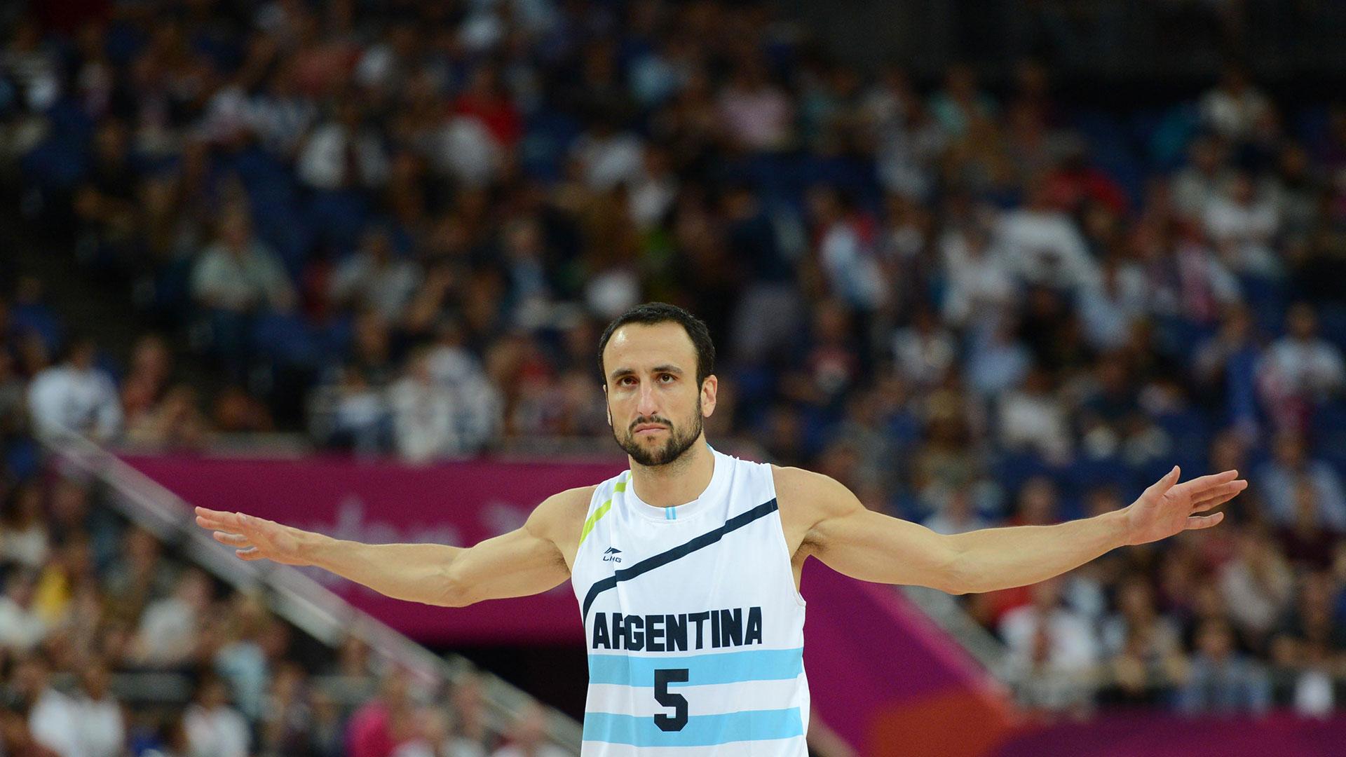 La dorsal número 5 de Argentina fue retiradapor laConfederación Argentina de Basquet