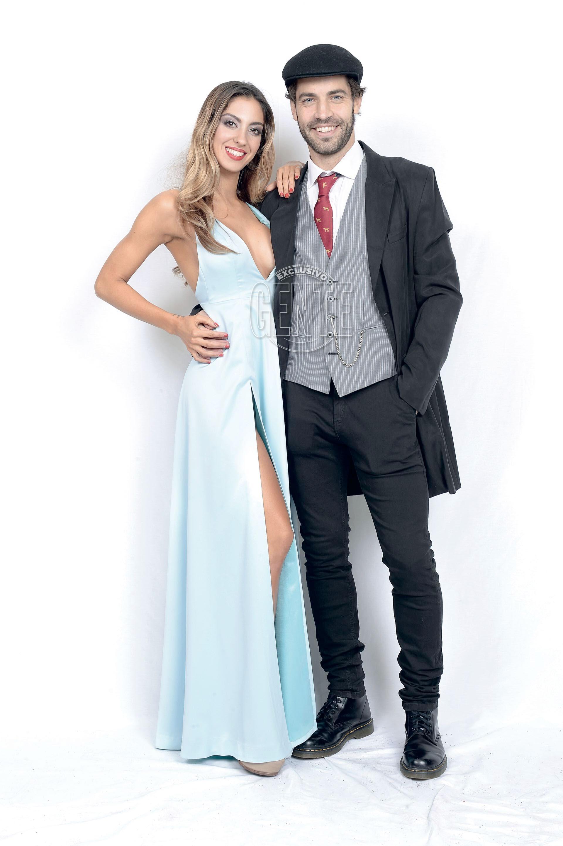 Benjamin Alfonso (by Bolivia) y Camila Méndez (por Victoria Díaz / zapatos Luciano Marra).