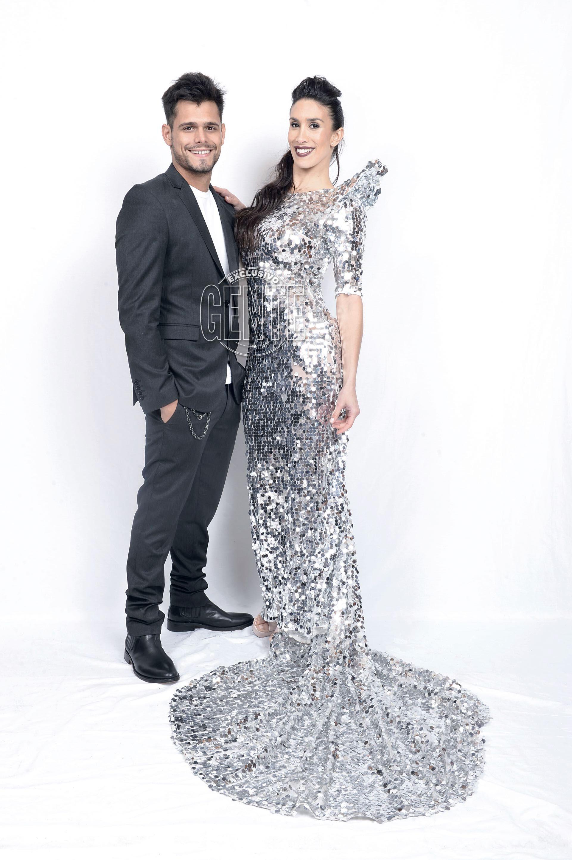 Flor Marcasoli (by Jorge Sandoval) y Lucas Velasco (por Bowen).