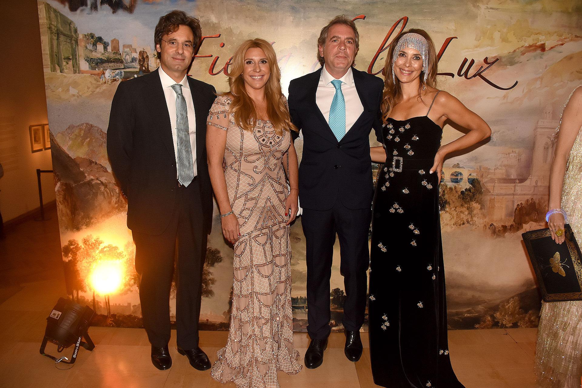Ludovico Rocca, Amalia Amoedo, Gonzalo Guerrieri y Adriana Batan de Rocca