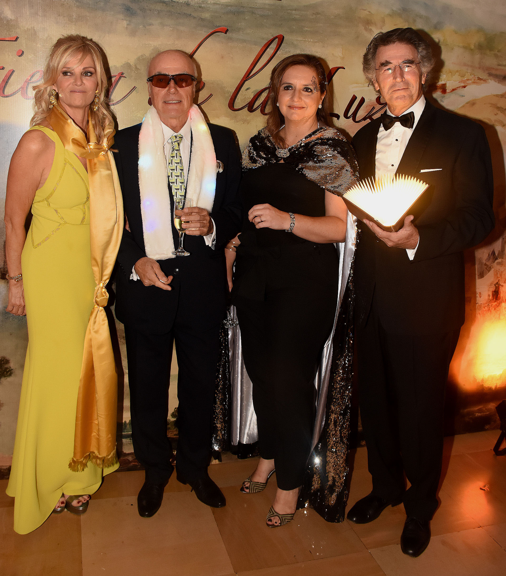 Josefina Carles, Ignacio Noel, Cecilia Remiro Valcarcel y Horacio Torcello