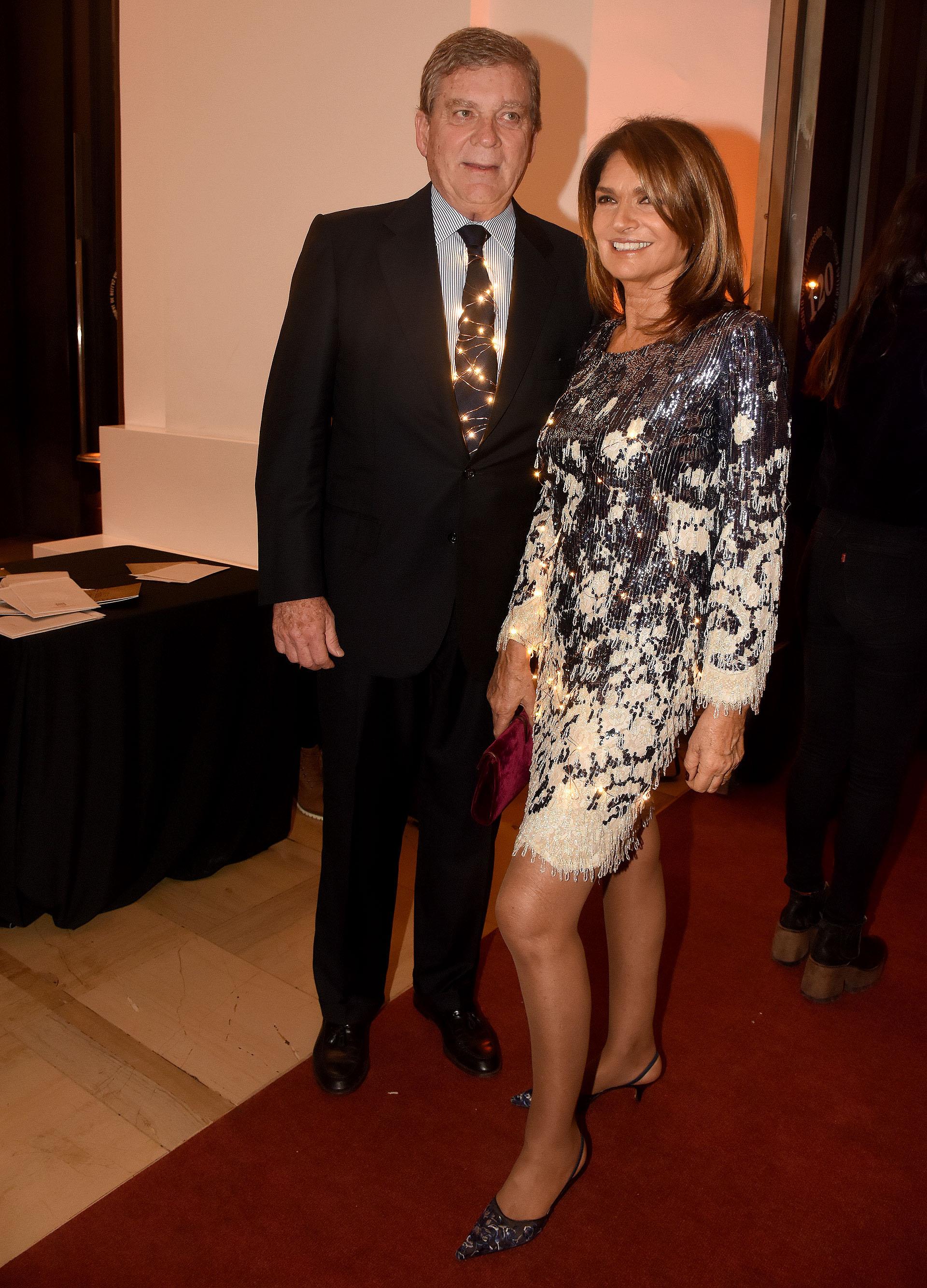 Gonzalo Bergadá y Teresa Calandra