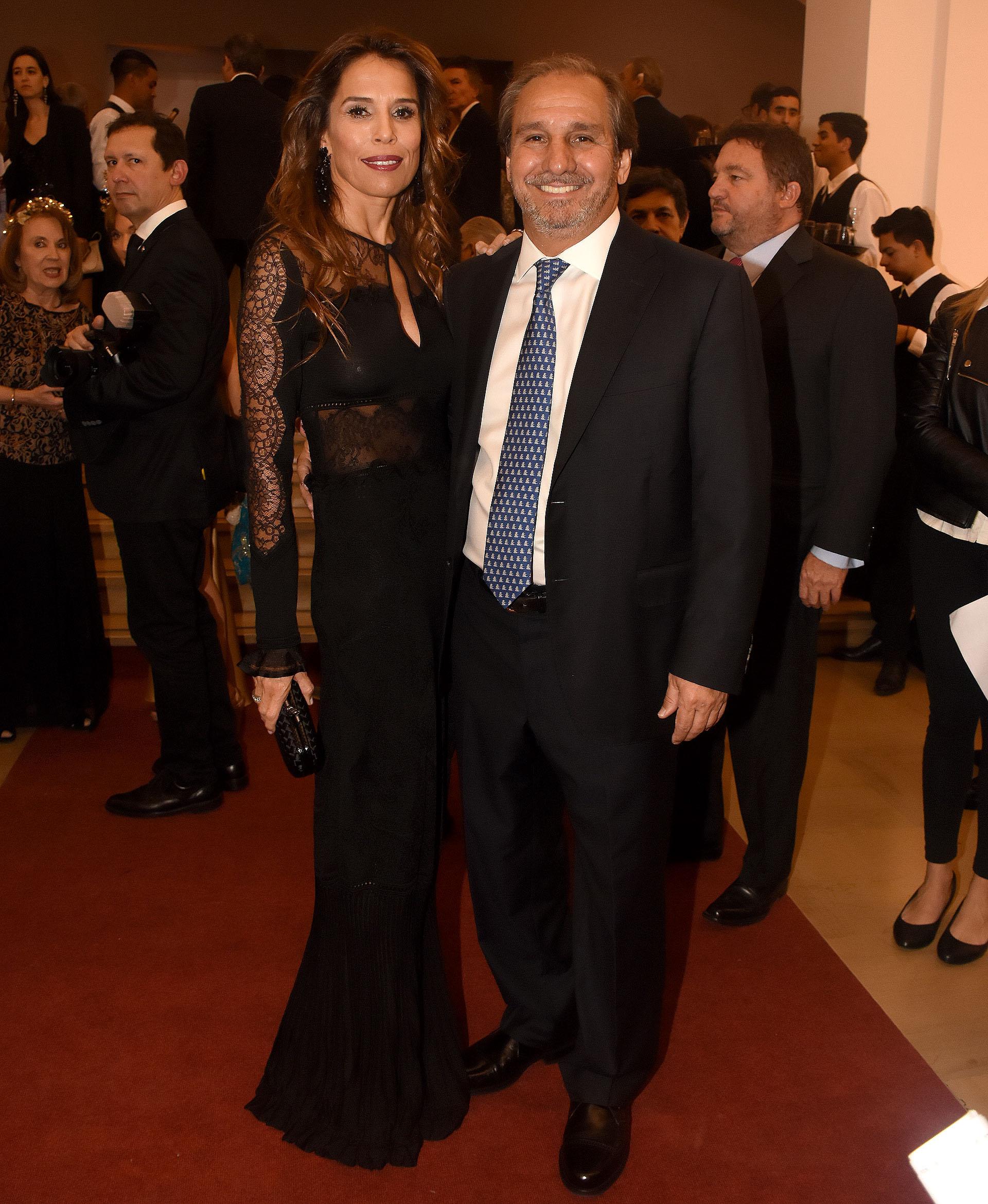 Nicolás Caputo y su mujer Agustina