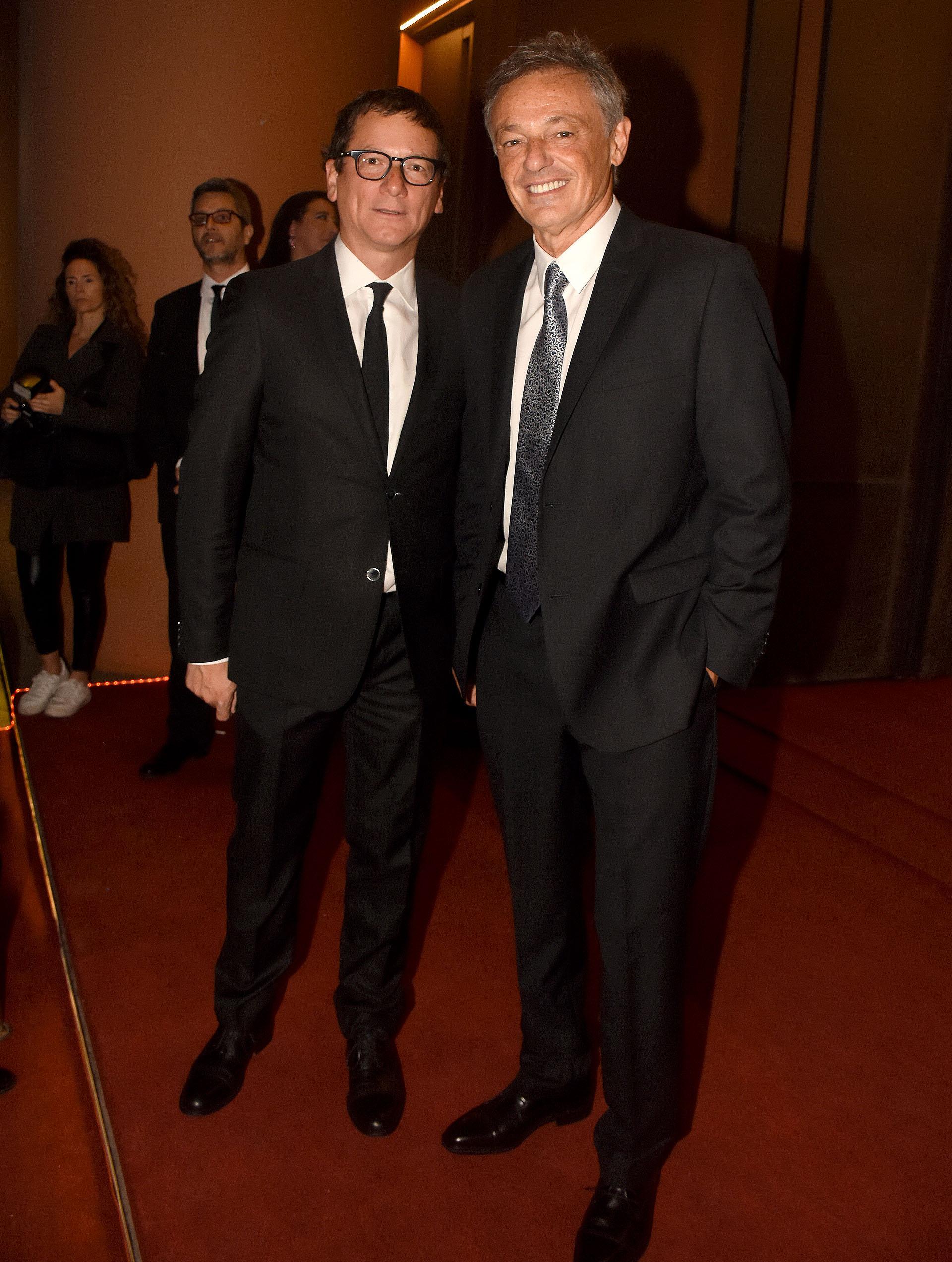 Gabriel Martino, presidente de HSBC Argentina, y Francisco Cabrera, ex ministro de Producción