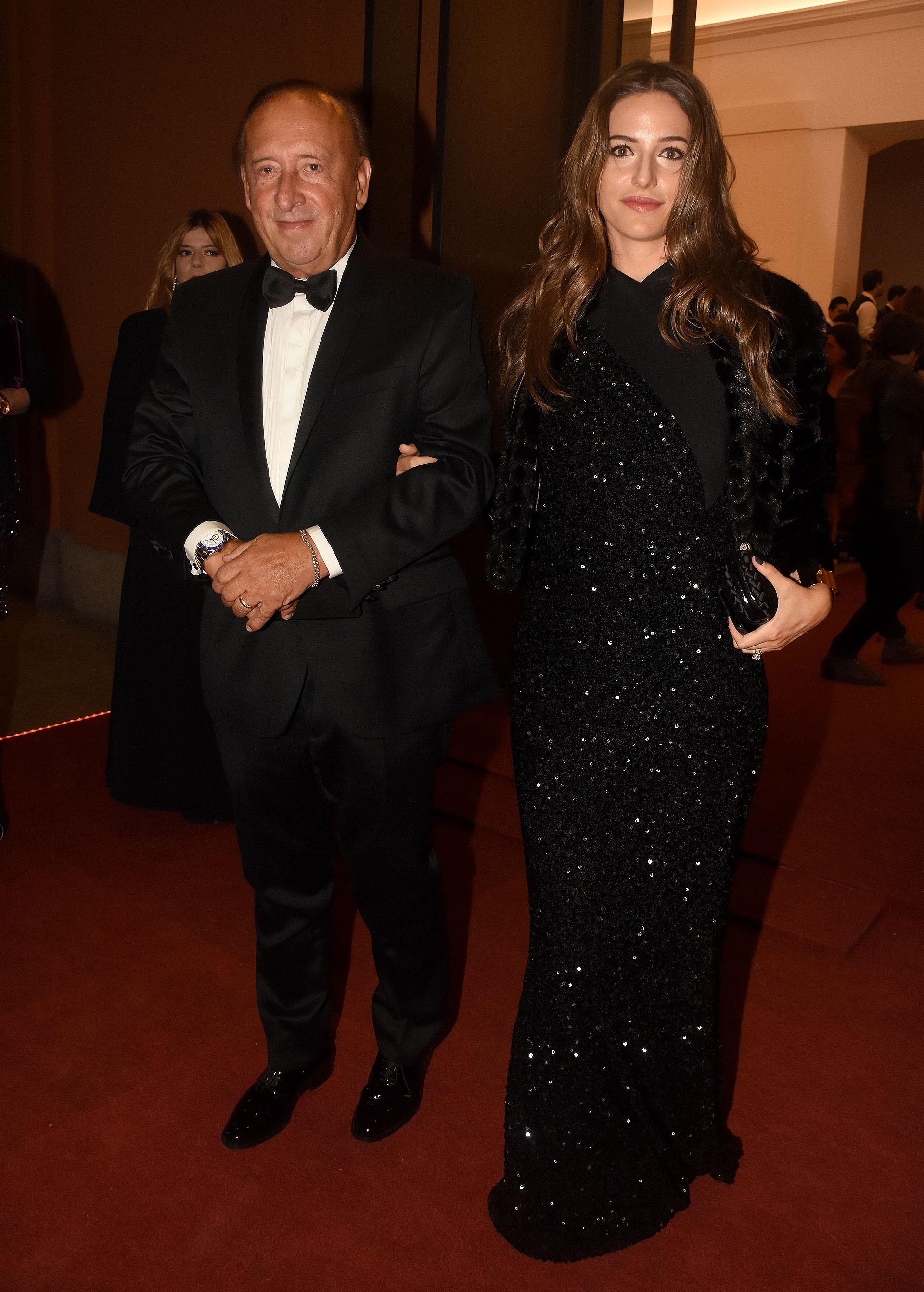 Mauricio Filiberti (Transclor) y su mujer Camila Pitana