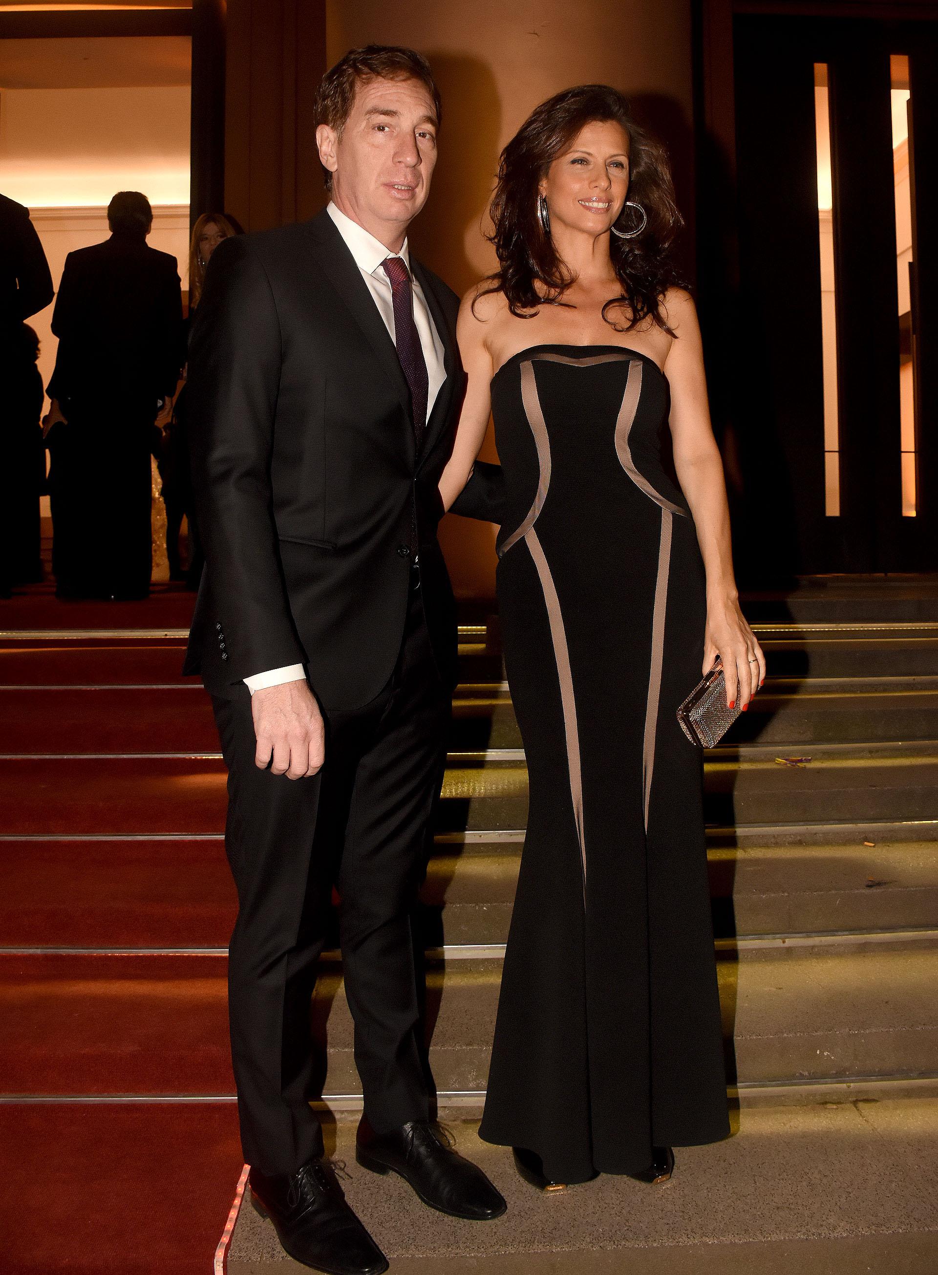 Diego Santilli, vicejefe de Gobierno porteño, y su mujer Analía Maiorana