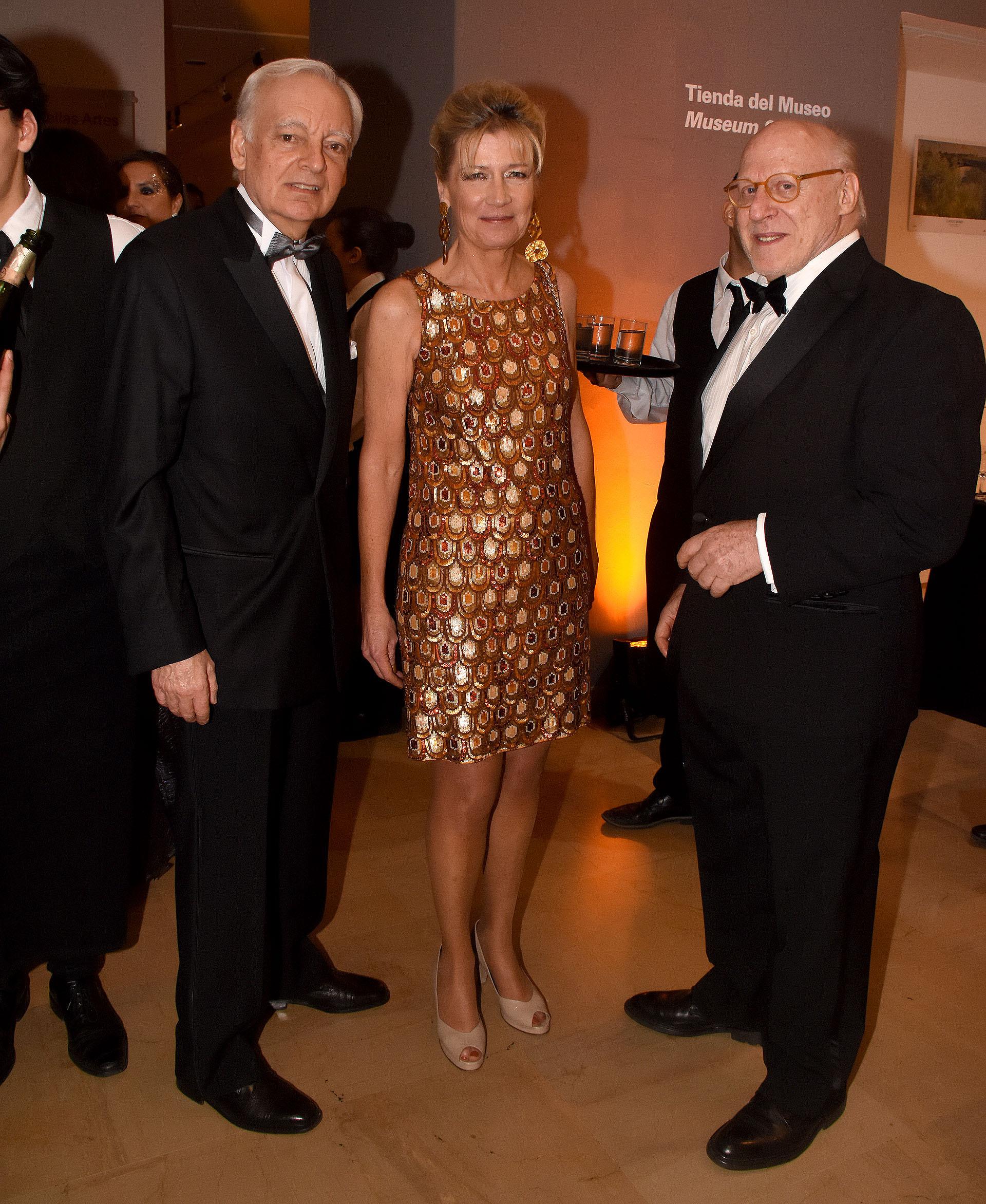 Eduardo Grüneisen, Fiona White y Julio Cesar Crivelli