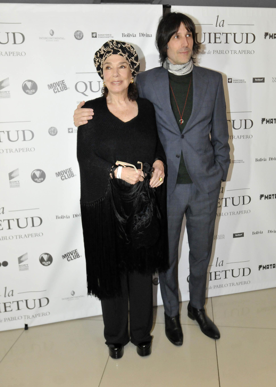 Graciela Borges y su hijo Juan Cruz Bordeu