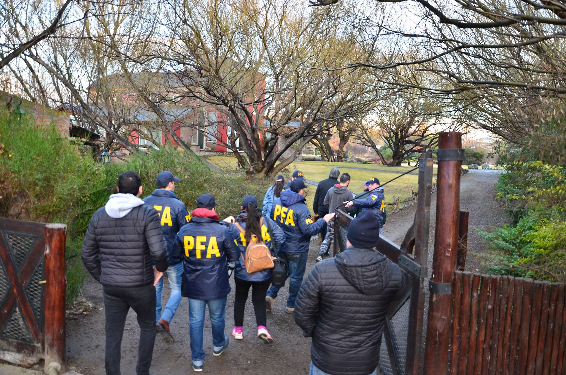 El allanamiento a la casa de Cristina Kirchner en El Calafate