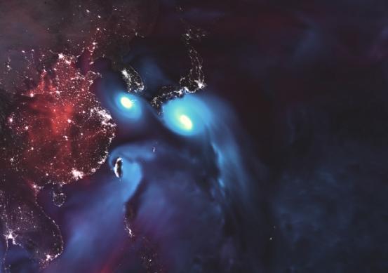 Los tifones Soulik y Cimarón a punto de azotar Corea del Sur y Japón (Foto: NASA)