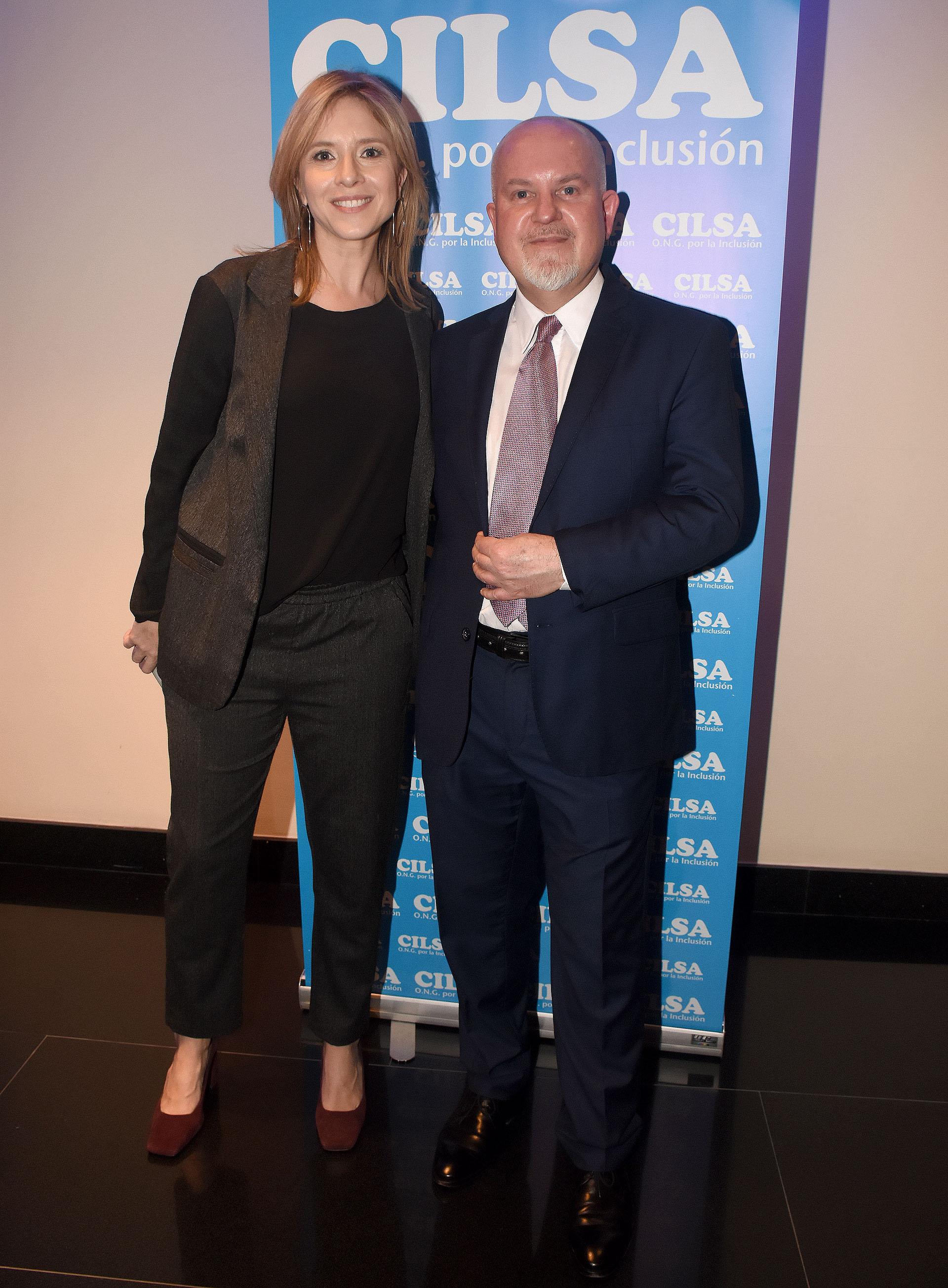 Carla Peterson y Juan Ignacio Penlowskyj