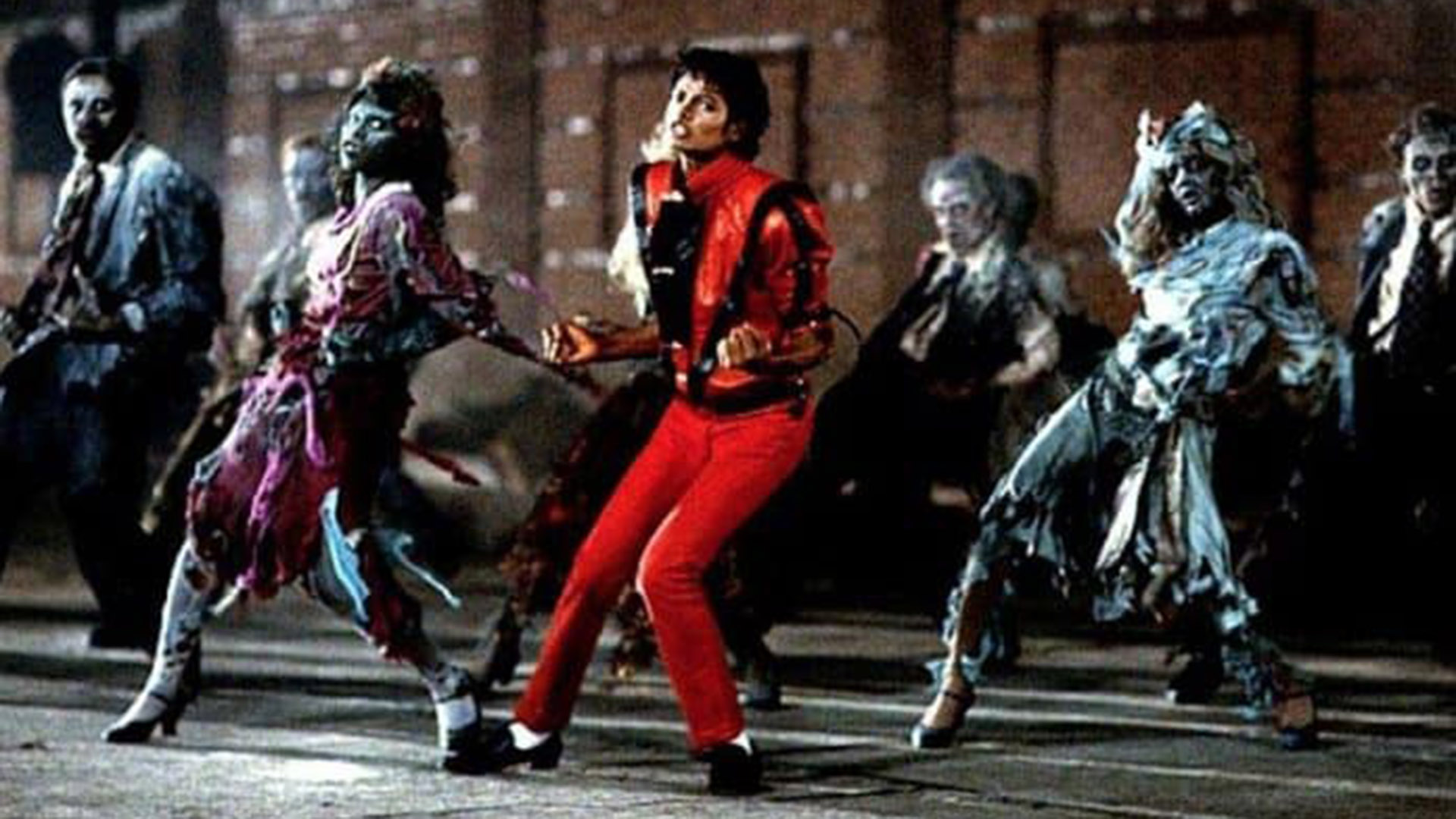 Michael Jackson en Thriller