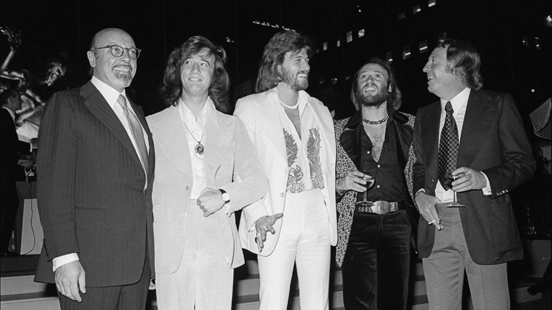 Los Bee Gees, en pleno éxito de su carrera (GrosbyGroup)