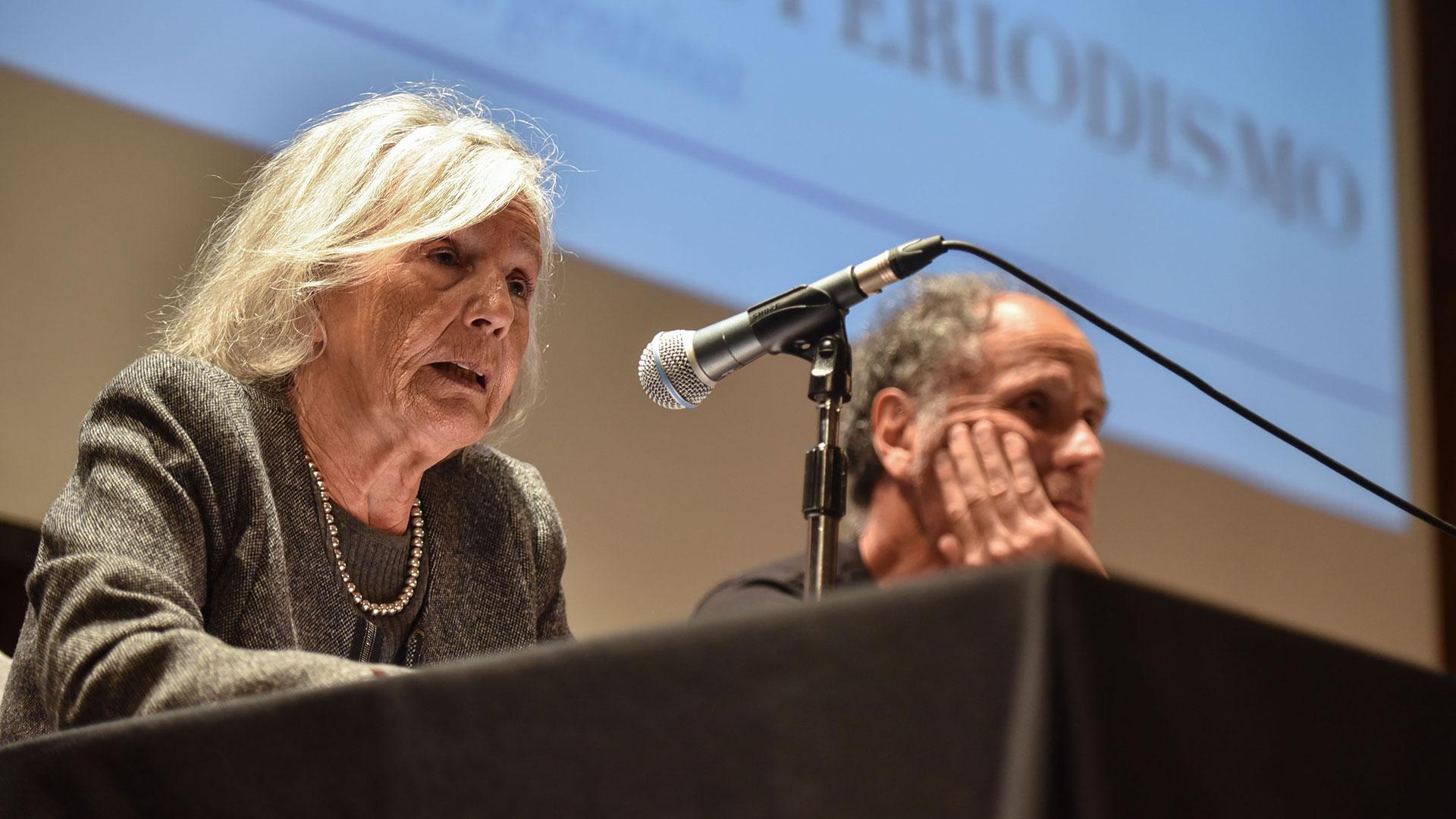 Beatriz Sarlo y Tomás Abraham (Fotos: Guillermo Llamos)