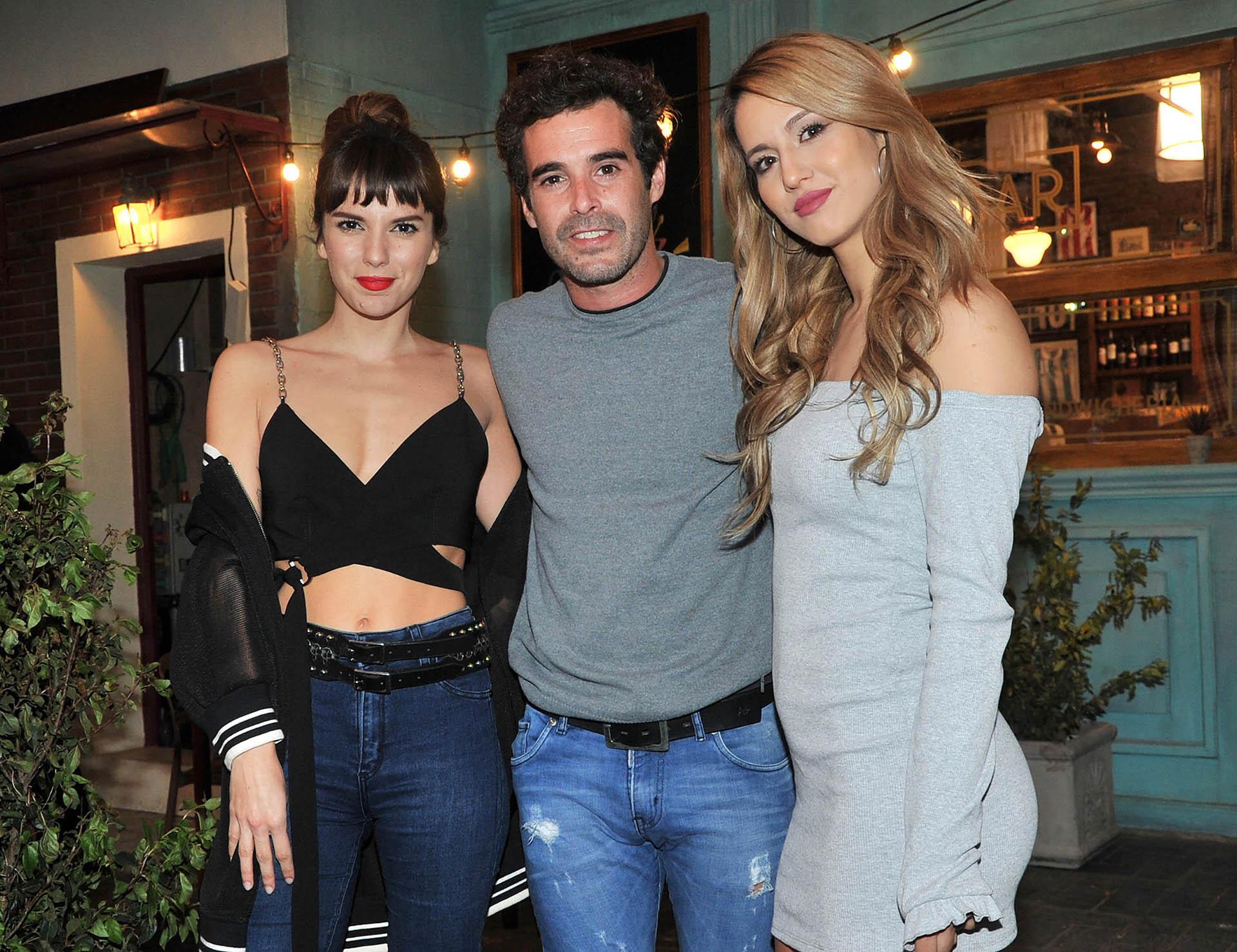 Gime Accardi, Nico Cabré y Flor Vigna, los protagonistas de la nueva ficción de Pol-ka (Verónica Guerman / Teleshow)