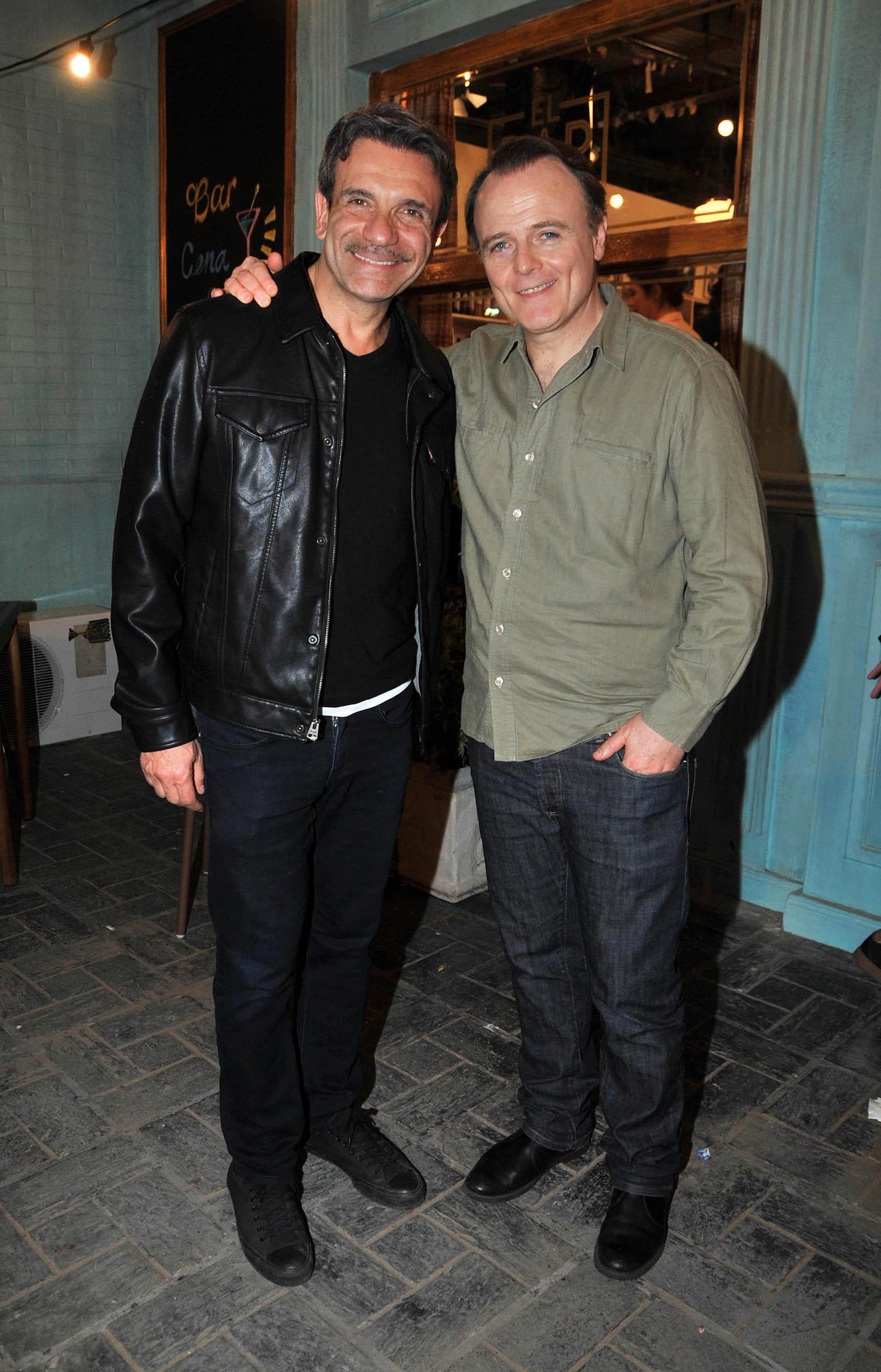 Marcelo Debellis y Luis Machín