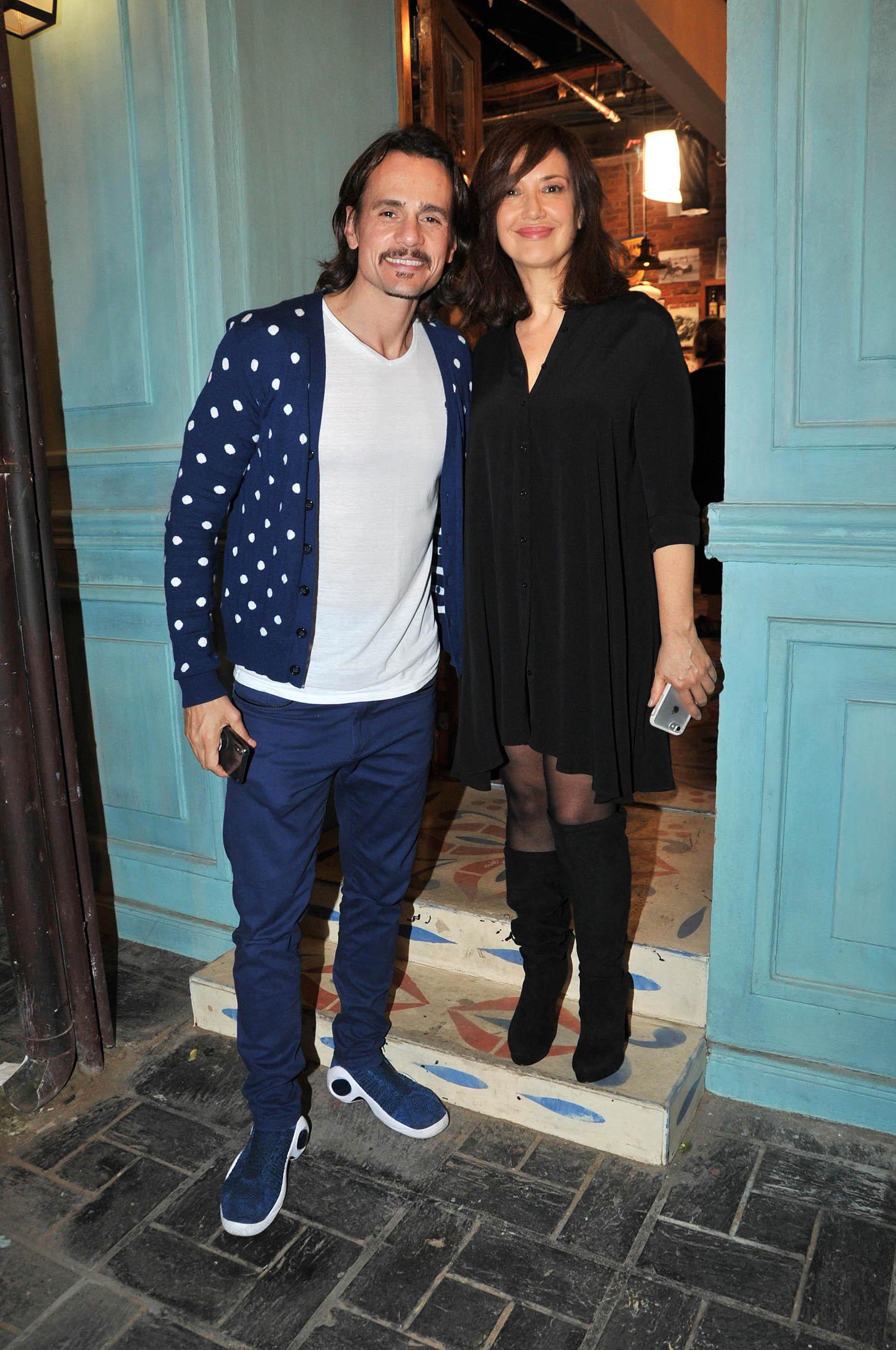 Cristian Sancho y Andrea Bonelli