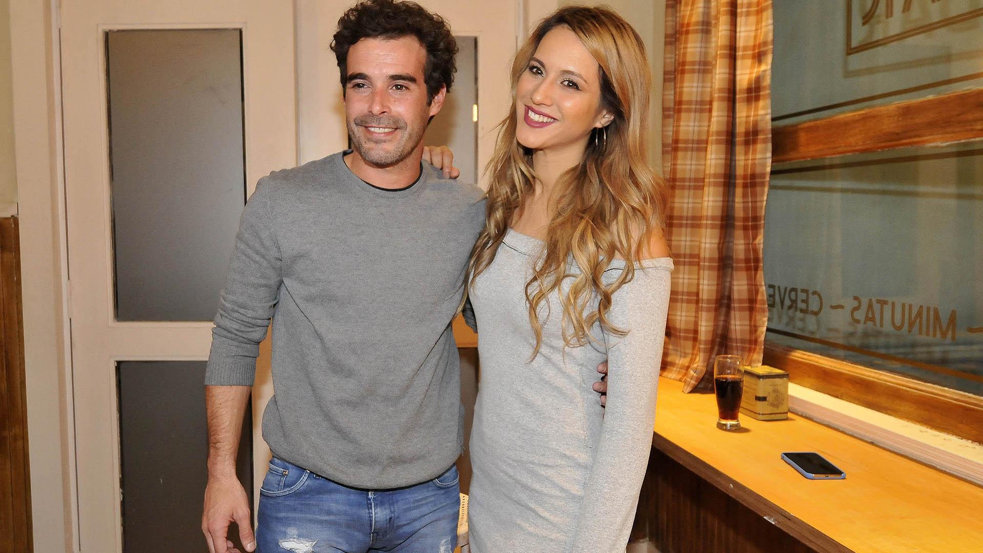 Nico Cabré y Flor Vigna