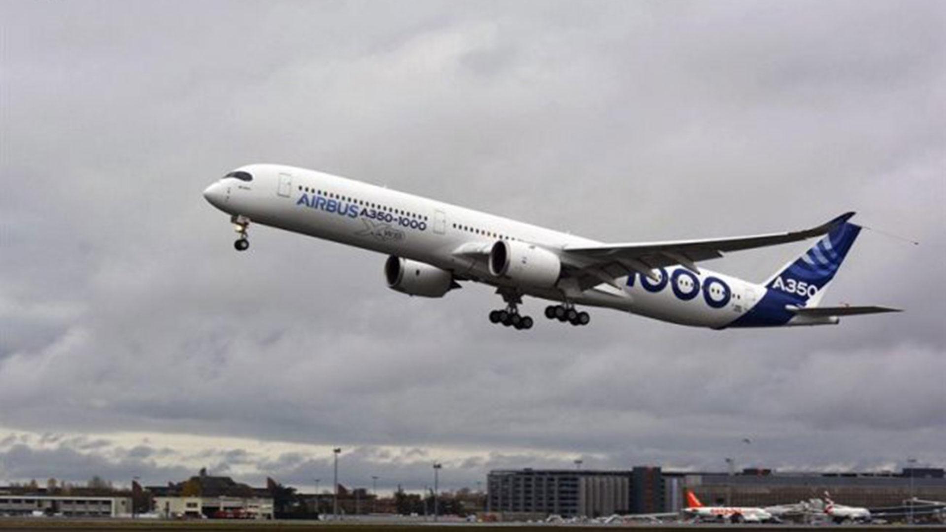 El Airbus A350-1000
