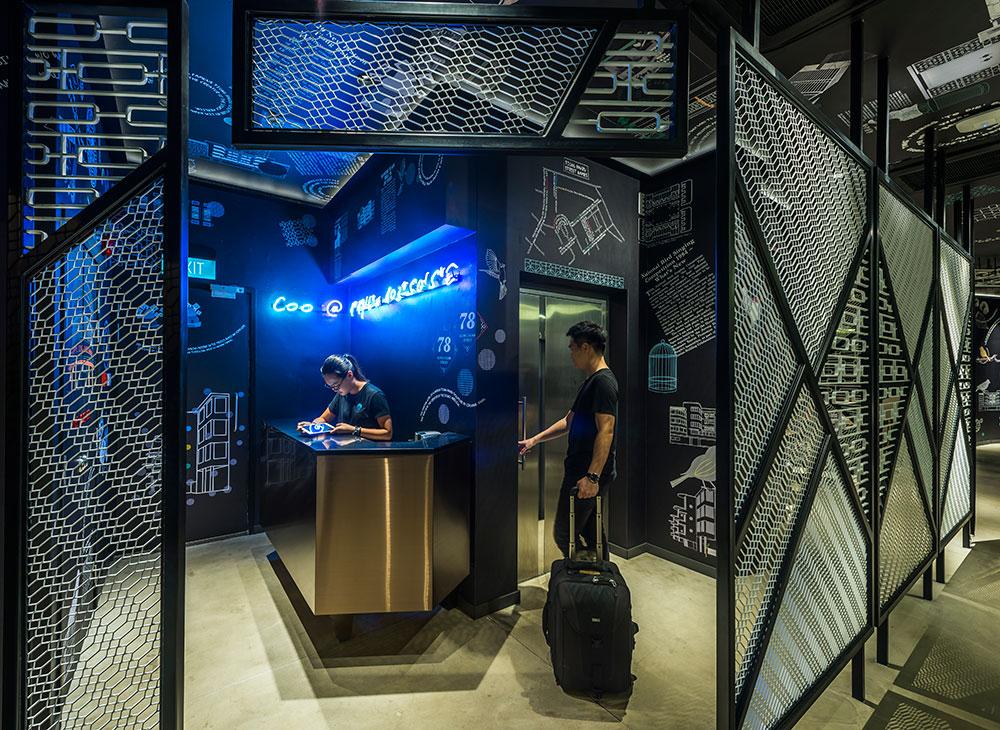 Además de un lugar donde dormir en Singapur, esta pensión ofrece networking con personas afines. (COO Hostel)