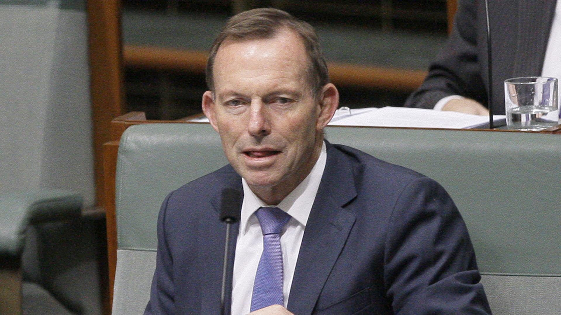 Tony Abbott, premier australiano entre 2013 y 2015 (AP)