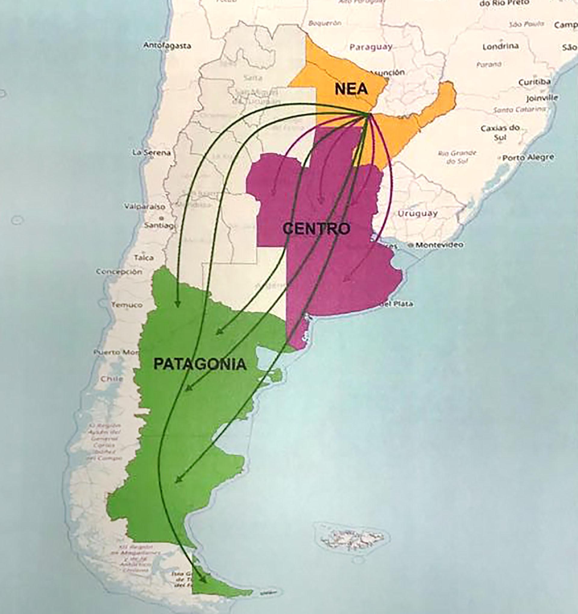 アルゼンチンの人身売買のルートは何ですか、そしてそれらと戦うために何が行われていますか?